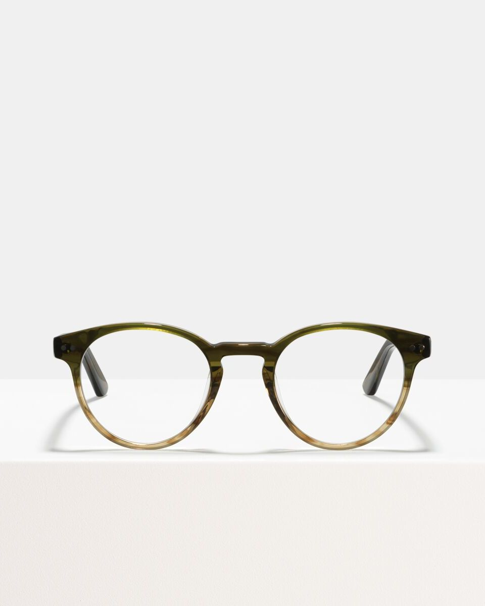 Pierce Extra Large acetate glasses in Olive Gradient by Ace & Tate