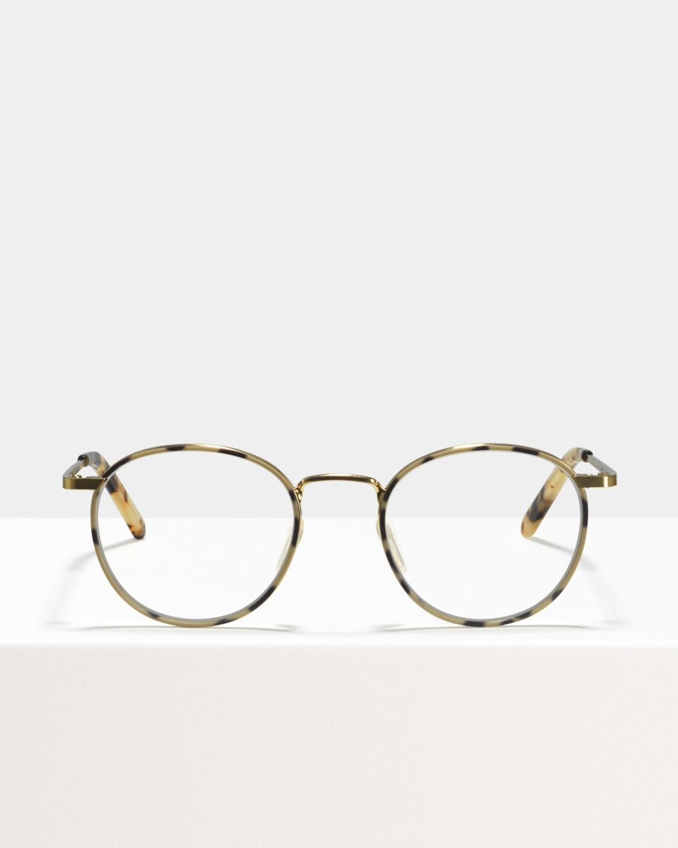 Neil Small metal glasses in Windsor Rim Space by Ace & Tate