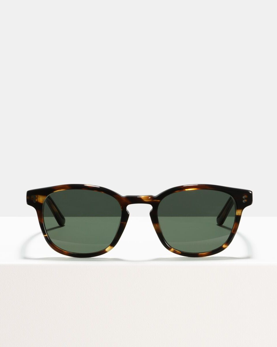 Alfred acetate glasses in Tigerwood by Ace & Tate
