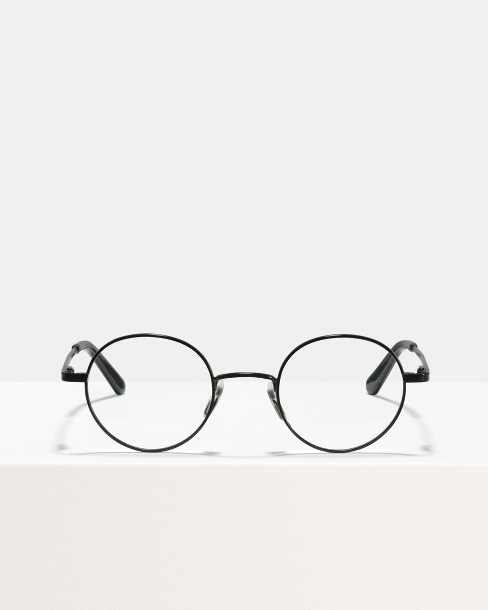 Liam metaal glasses in Matte Black by Ace & Tate