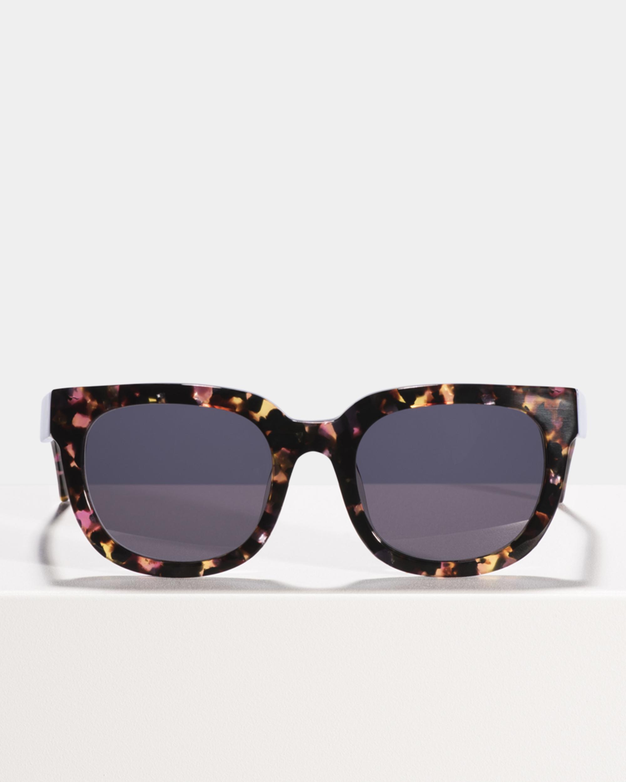 Ace & Tate Sunglasses | quadratisch Acetat in Pink, Violett