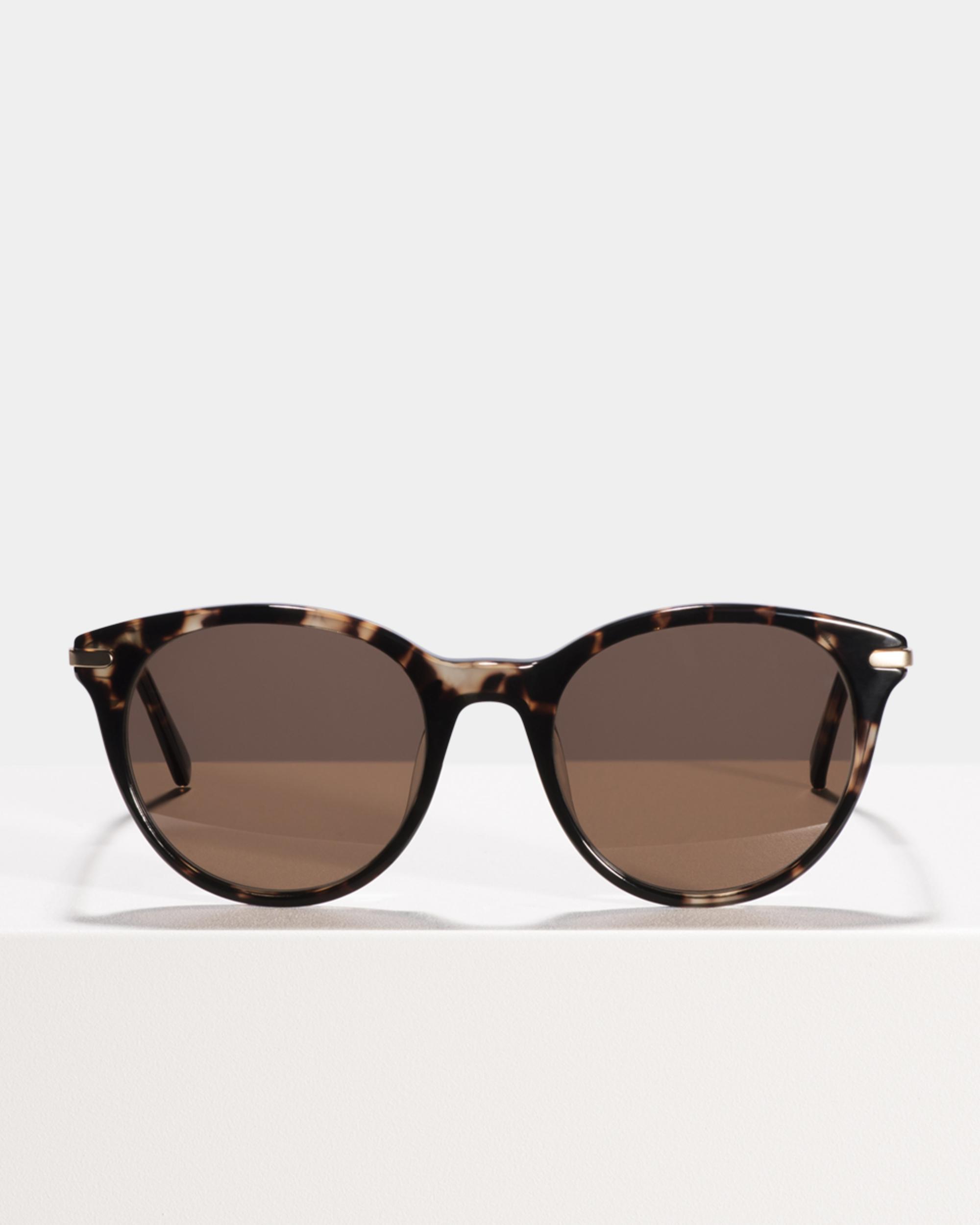 Ace & Tate Sunglasses | rund Verbund in Braun