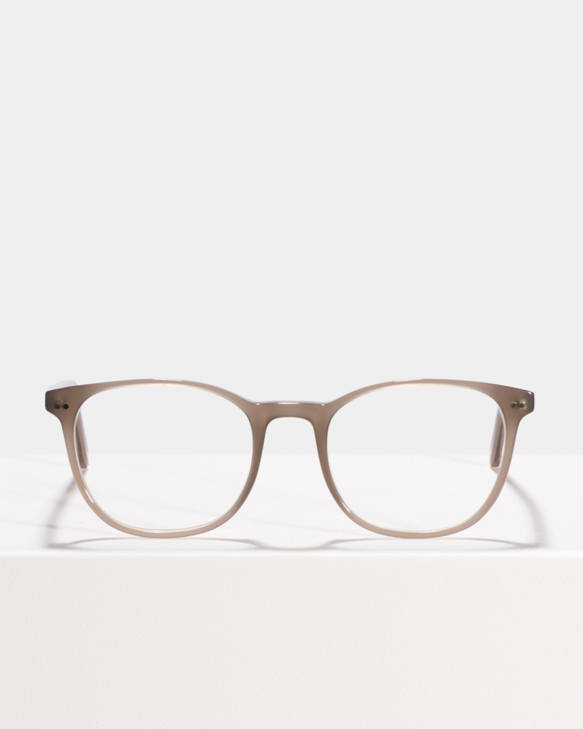 Ace & Tate Glasses | square acetate in Grey