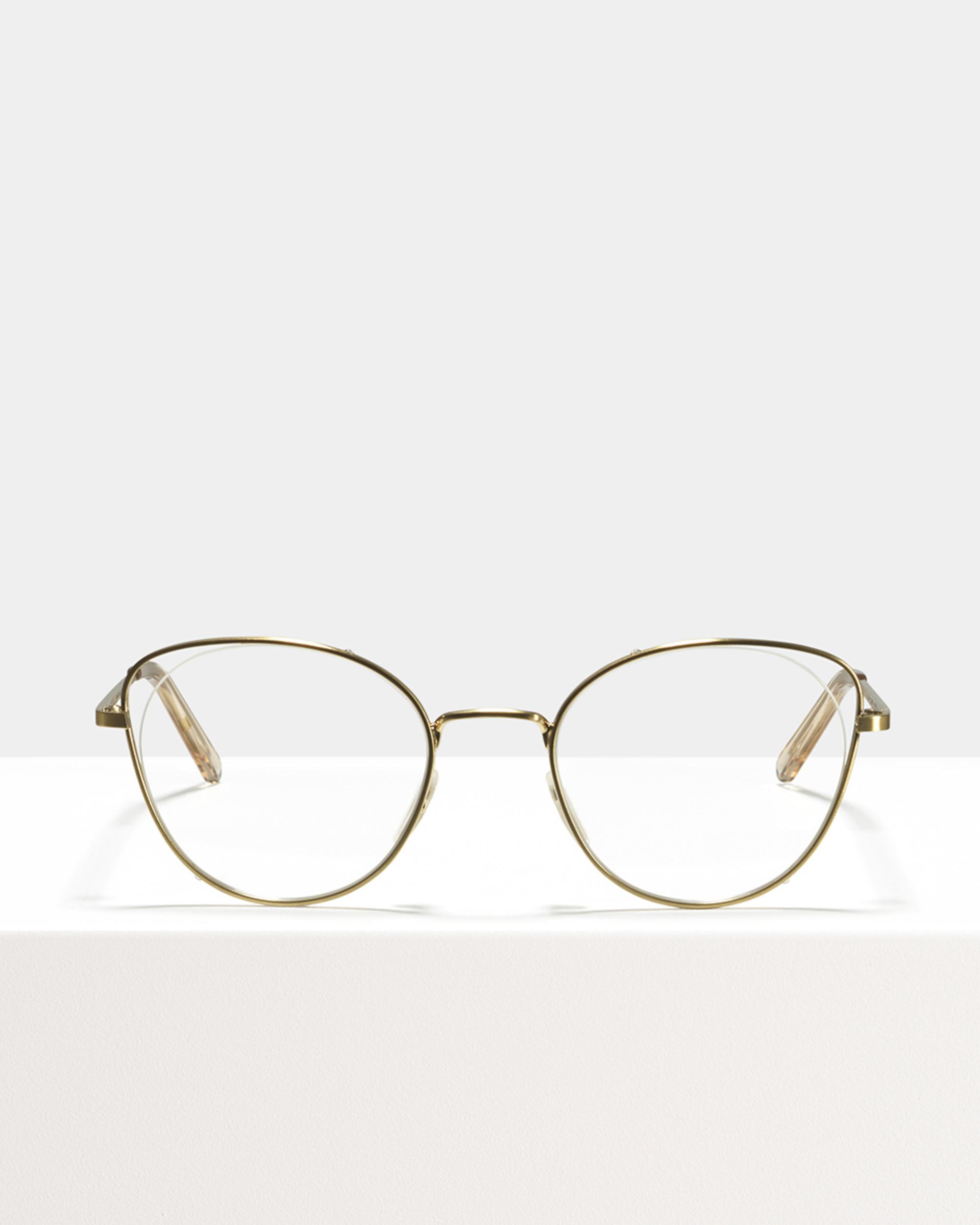 Ace & Tate Glasses | rond metaal in Goud