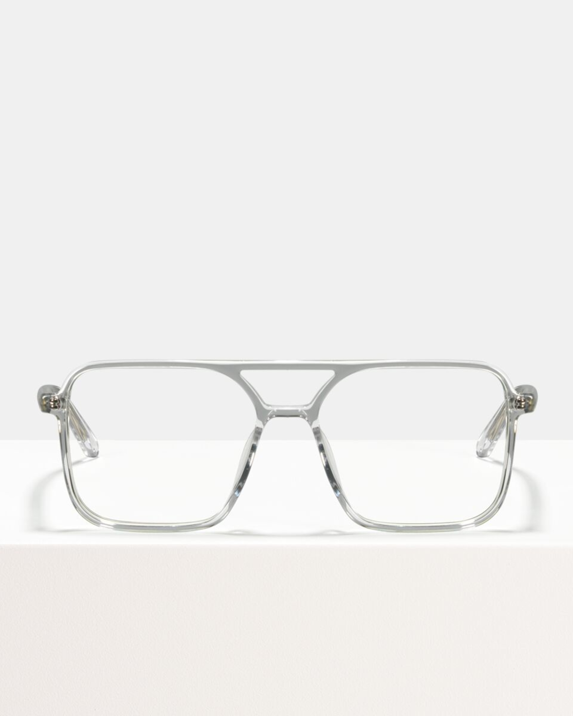 Ace & Tate Glasses | vierkant bioacetaat in