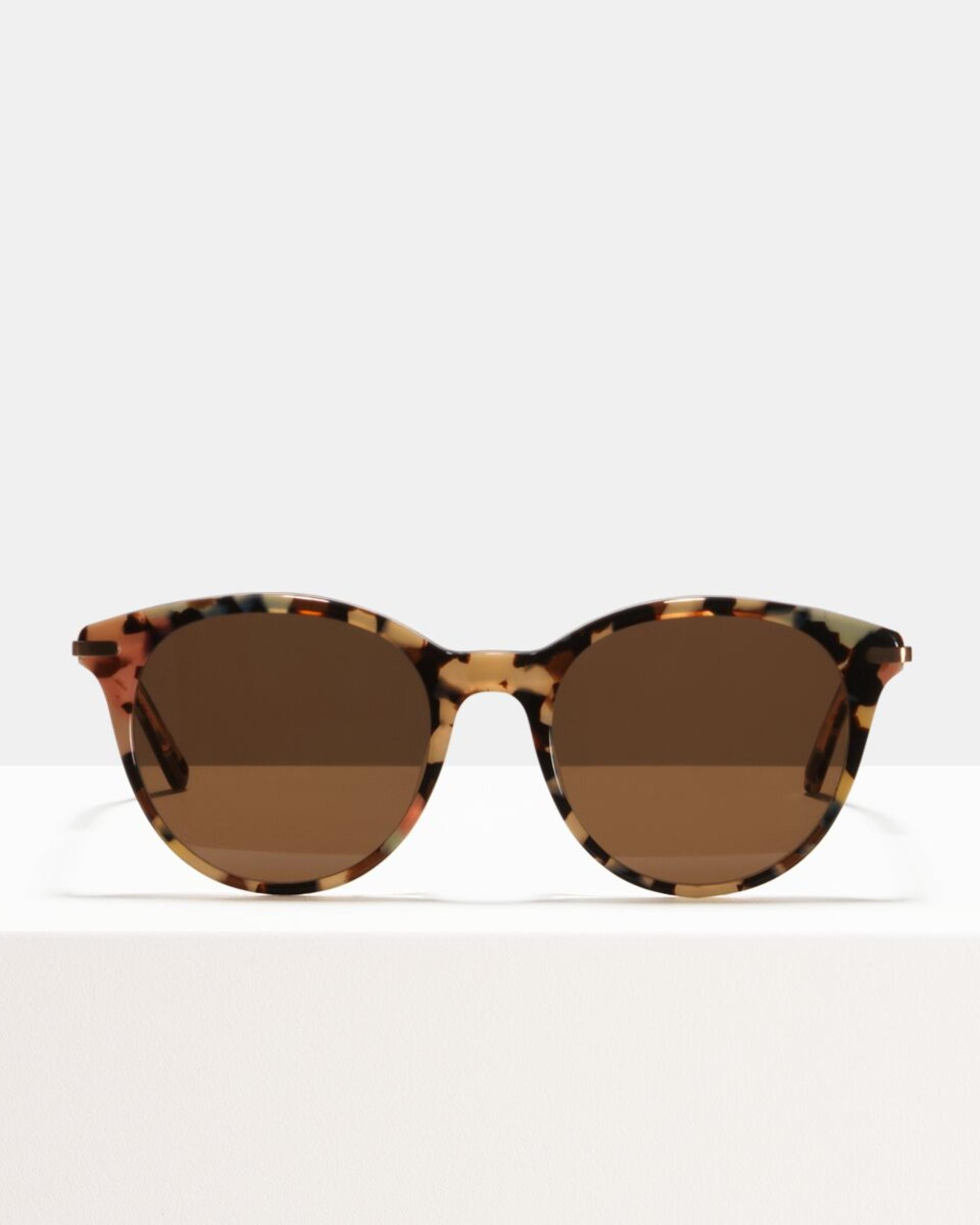Ace & Tate Sunglasses | rund Acetat in Blau, Braun, Pink