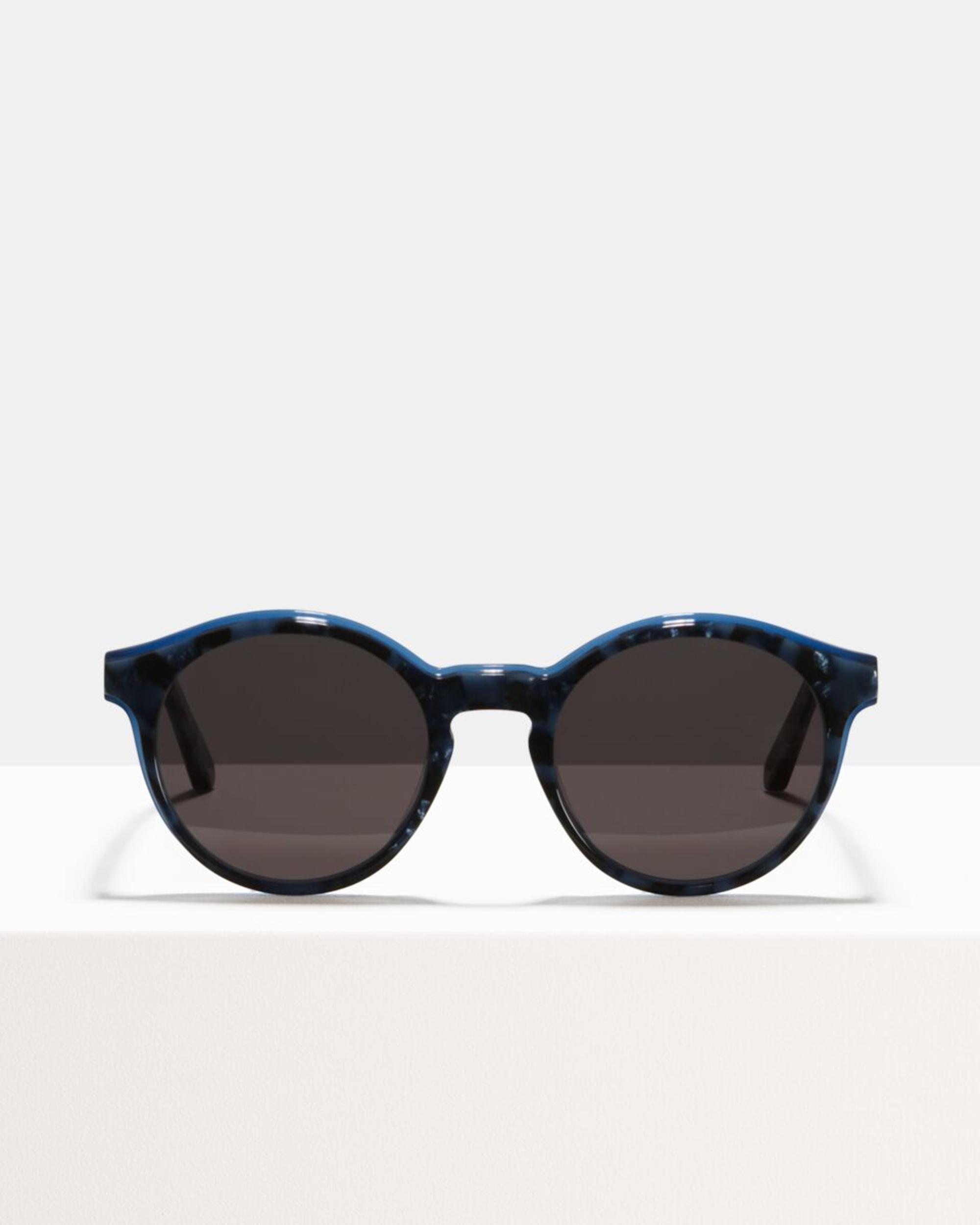 Ace & Tate Sunglasses | rund Acetat in Blau