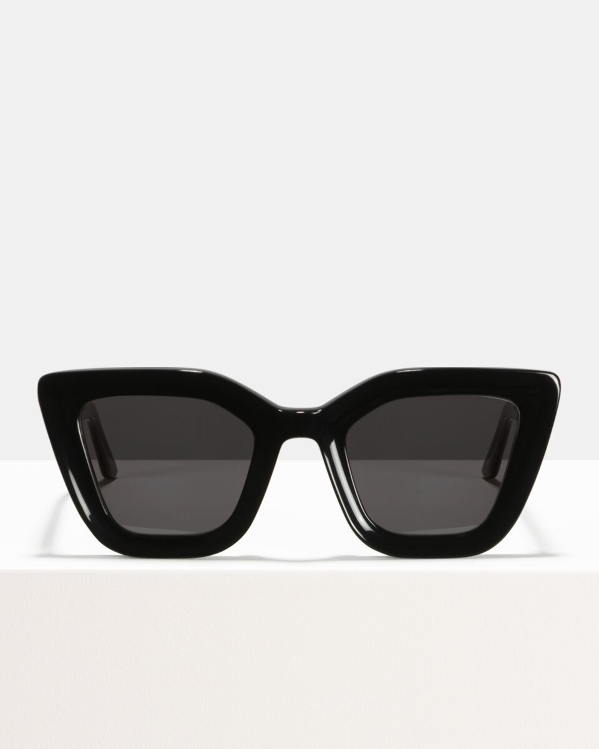 Ace & Tate Sunglasses | rectangle recycled in Black