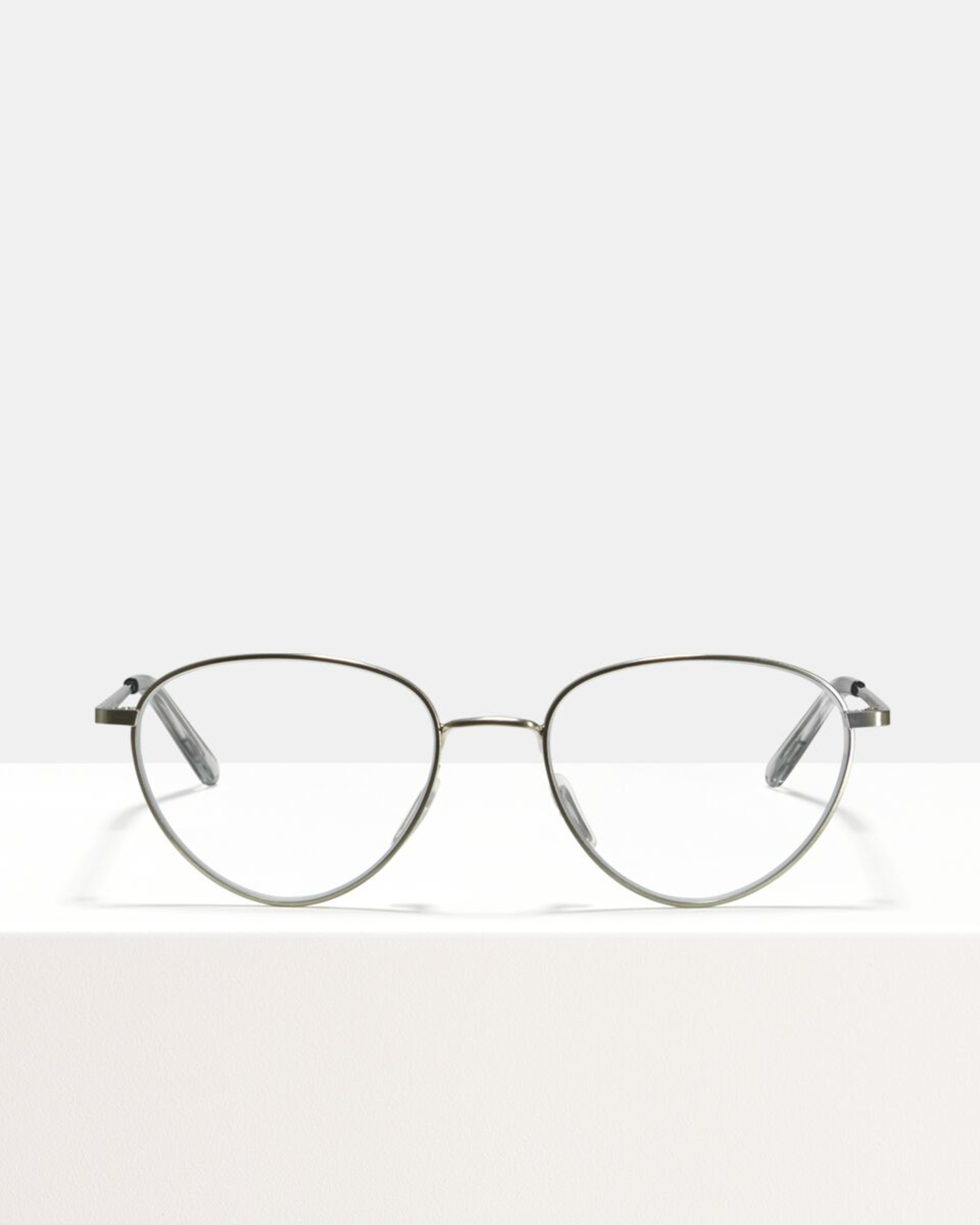 Ace & Tate Glasses |  metal in Silver