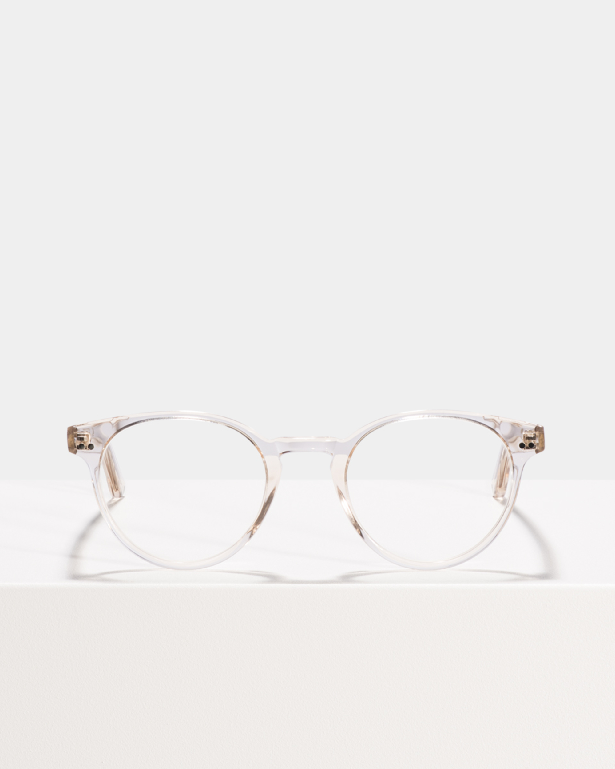Ace & Tate Glasses | rond acetaat in Roze