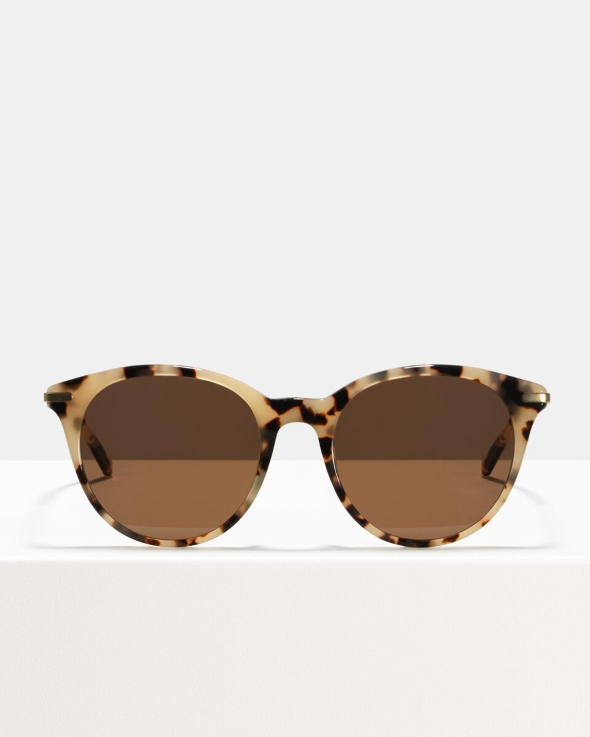 Ace & Tate Sunglasses | rund Acetat in Beige