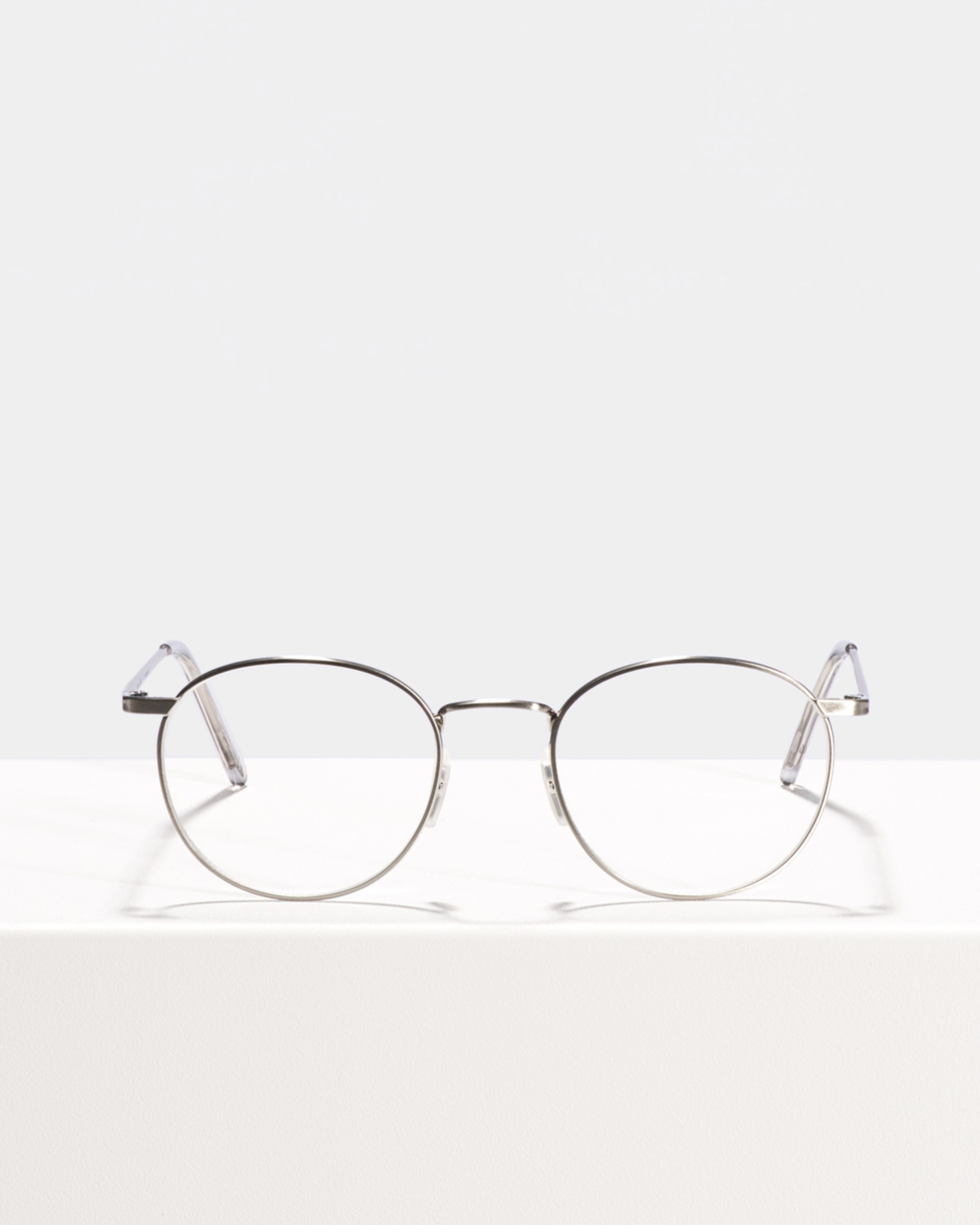 Ace & Tate Glasses | rond metaal in Zilver