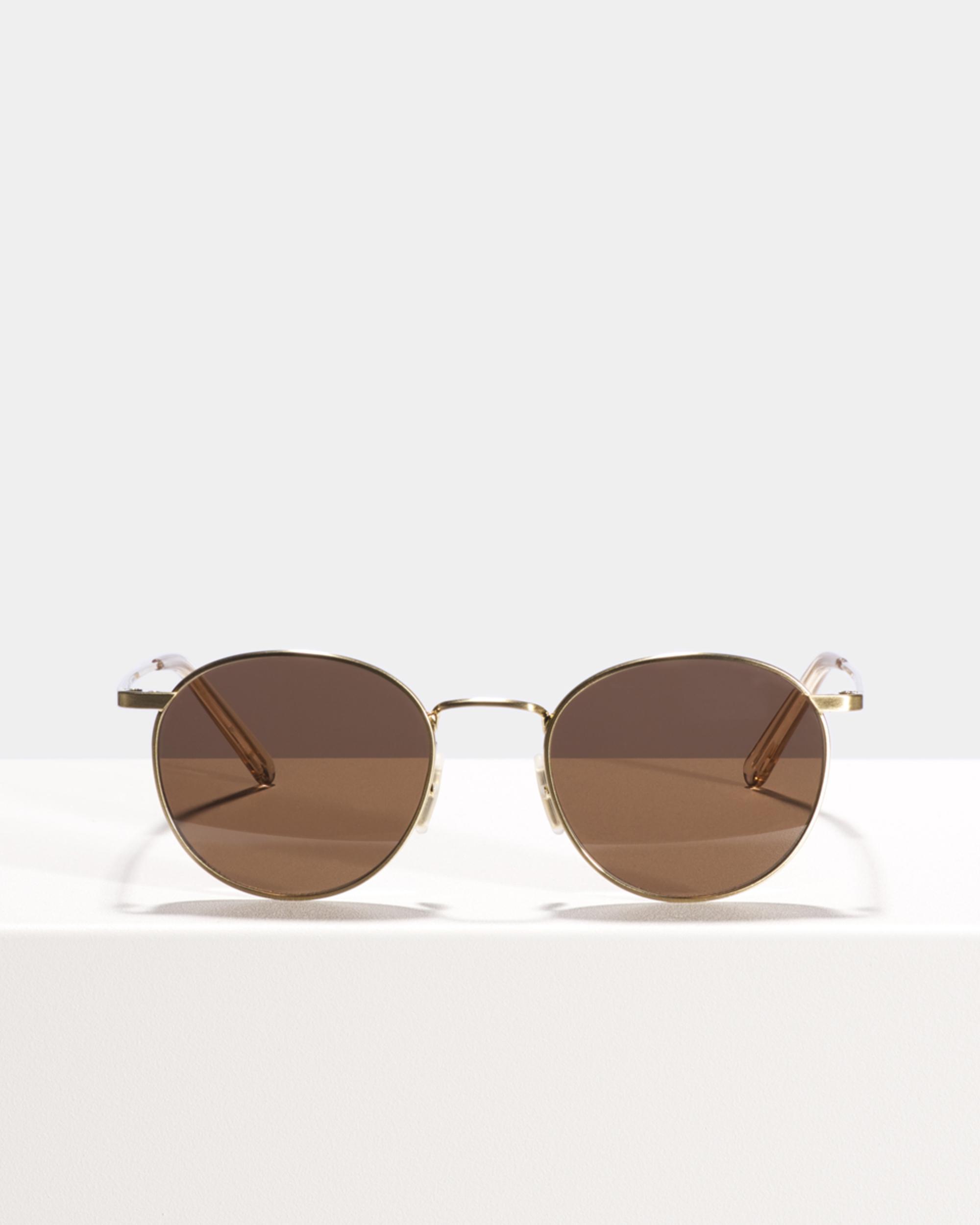 Ace & Tate Sunglasses | rund Titan in Gold