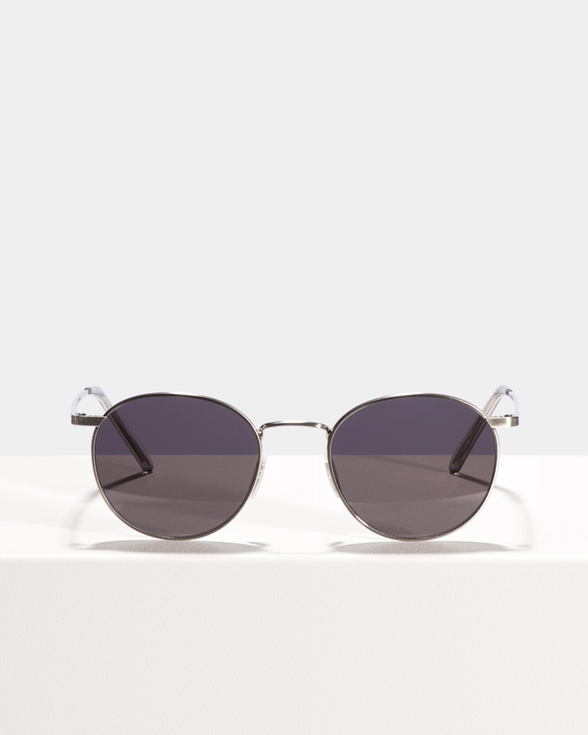Ace & Tate Sunglasses | rund Titan in Silber