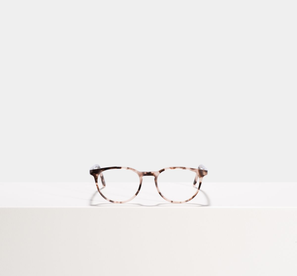Damien round acetate glasses in Cherry Blossom by Ace & Tate