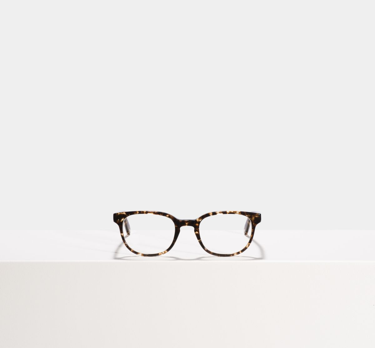 Finn rectangle acetate glasses in Chocolate Chip by Ace & Tate