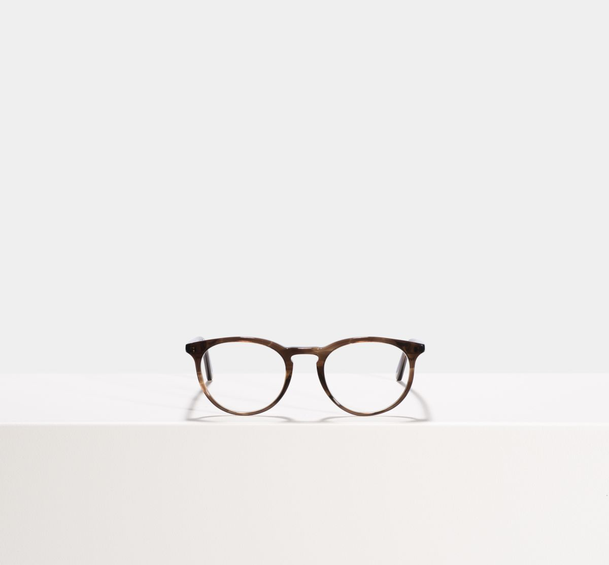 Floyd rund Acetat glasses in Dark Ale by Ace & Tate