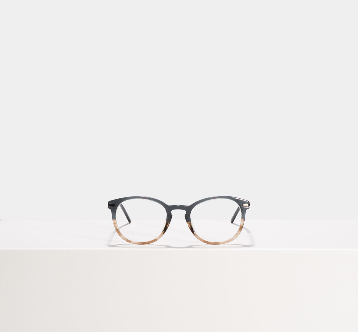 Franck square combi glasses in Teal Oak by Ace & Tate