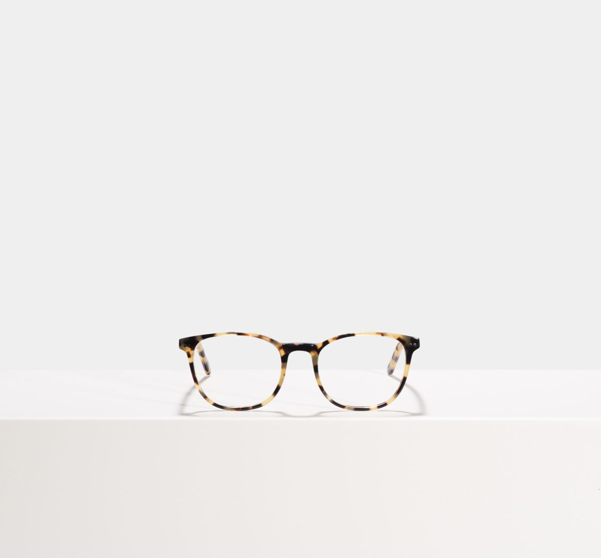 Saul rund Acetat glasses in Bananas by Ace & Tate