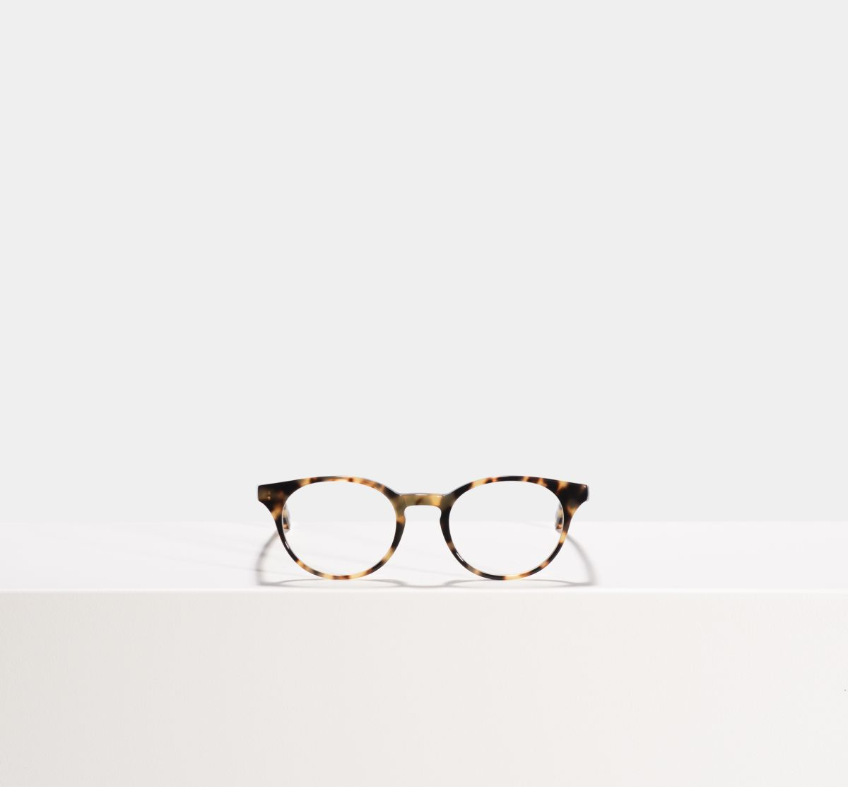 Steve rund Acetat glasses in Bananas by Ace & Tate