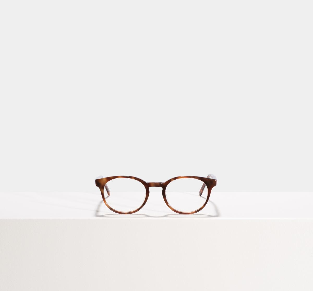 Steve round acetate glasses in Desert Spice by Ace & Tate