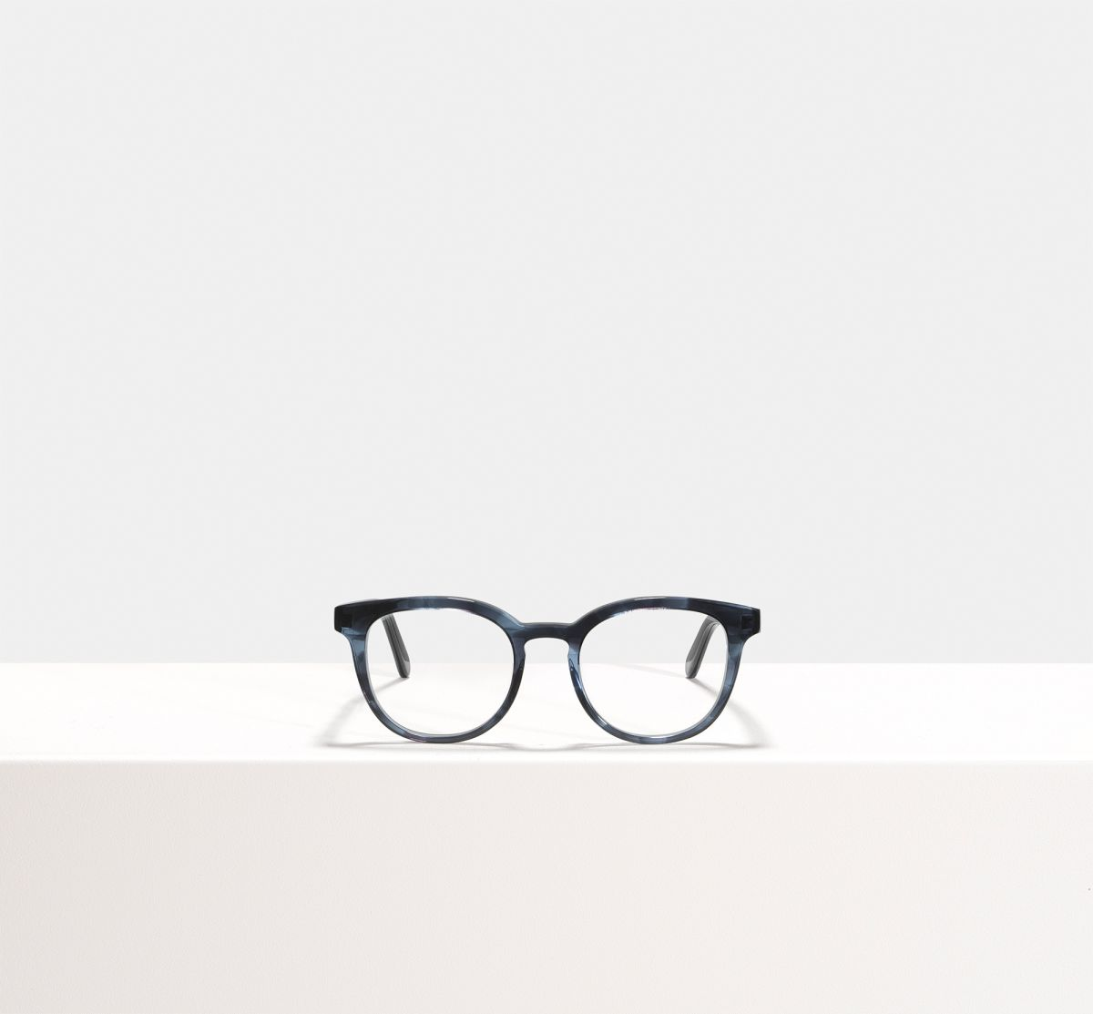 Milan round acetate glasses in Monsoon by Ace & Tate