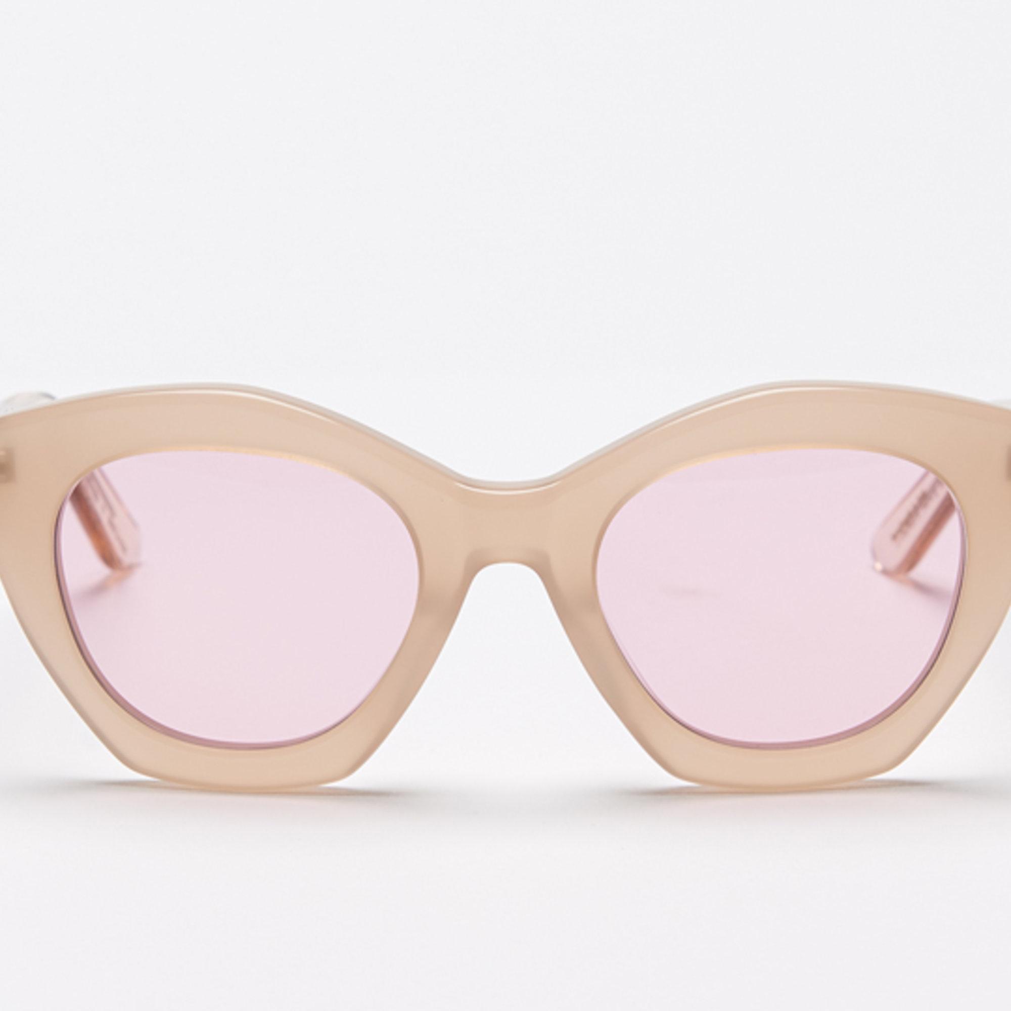 Ace & Tate Sunglasses |  acetate in Beige, Brown, Pink