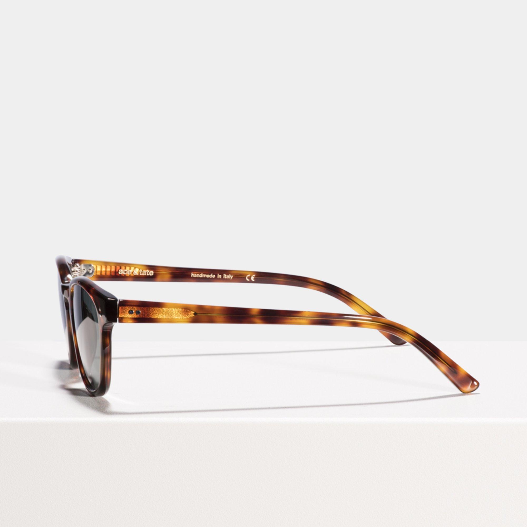 Ace & Tate Sunglasses   square acetate in Brown
