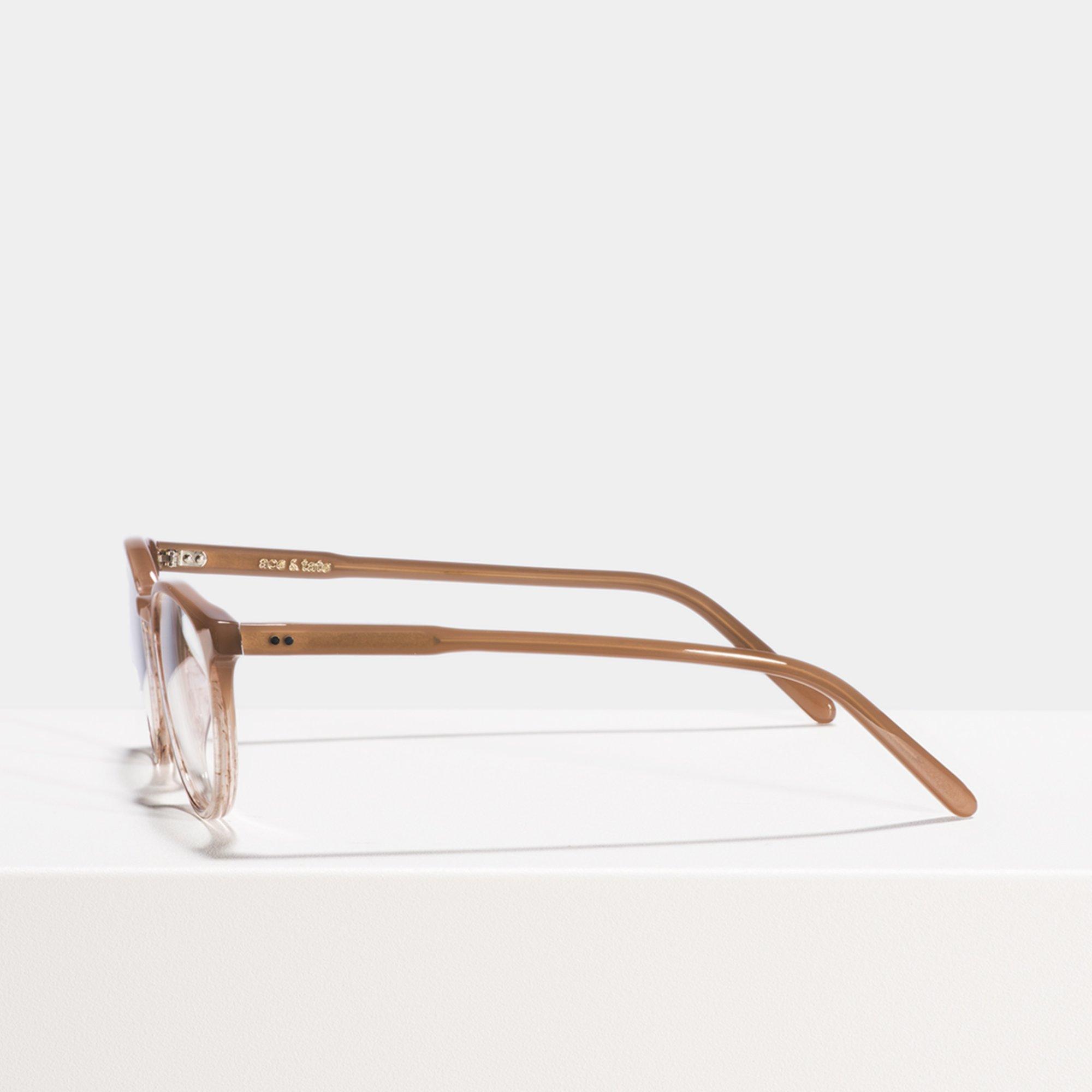 Ace & Tate Glasses    Acetat in Beige, Pink