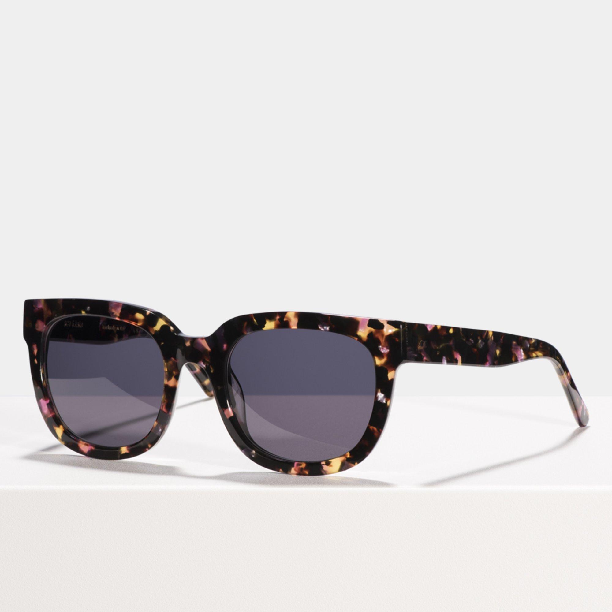 Ace & Tate Sunglasses | square acetate in Pink, Purple