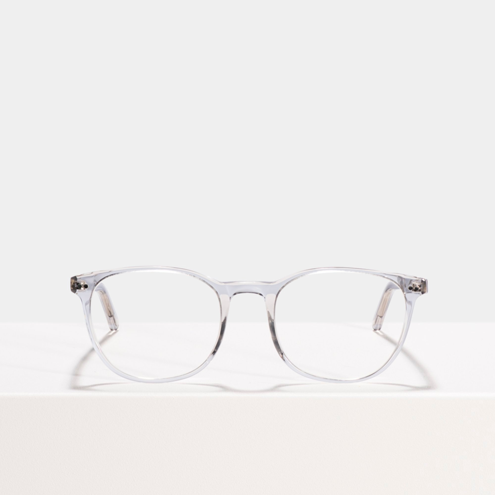 Ace & Tate Glasses | square acetate in Clear, Grey
