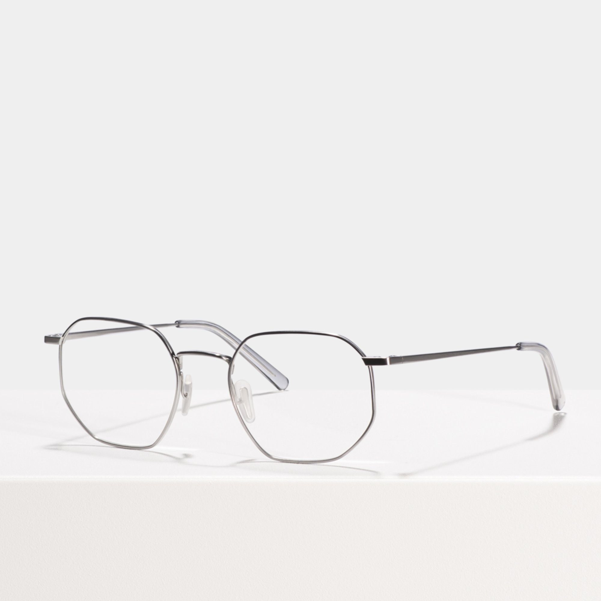 Ace & Tate Glasses |  titanium in Silver