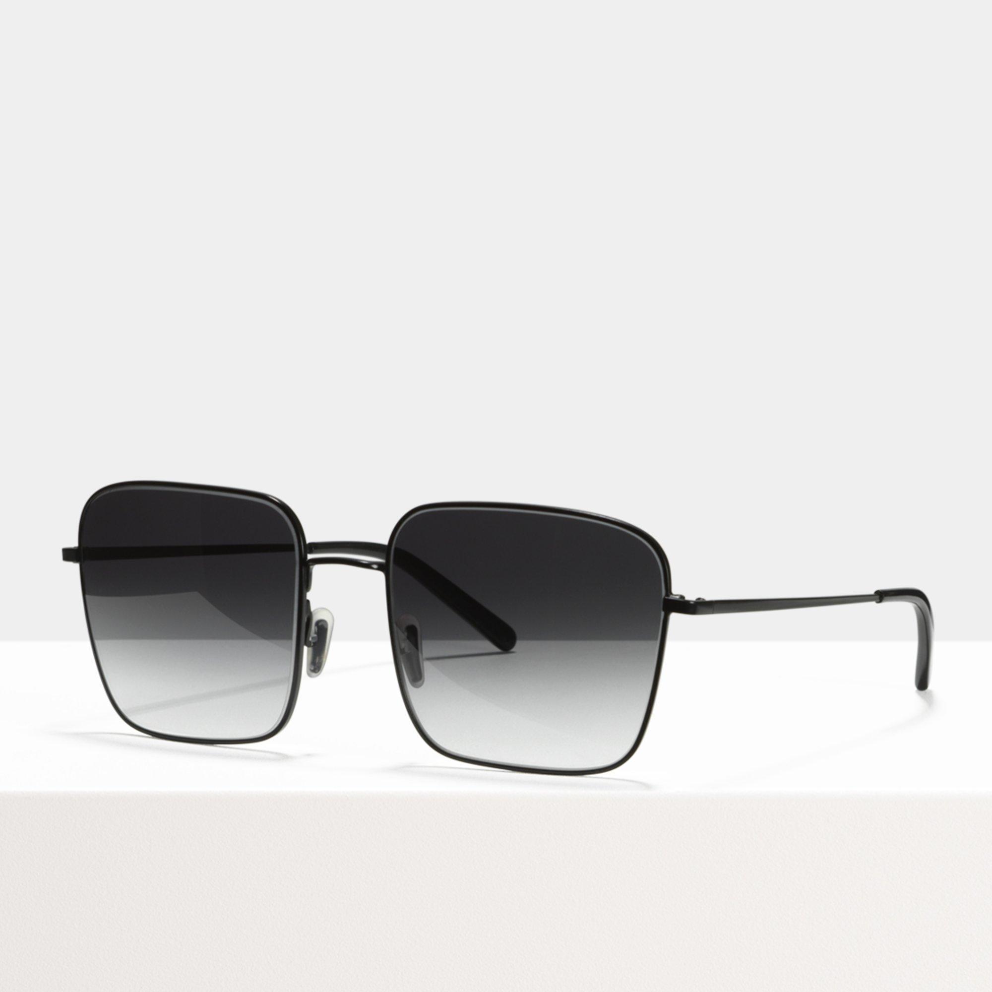 Ace & Tate Sunglasses | square metal in Black