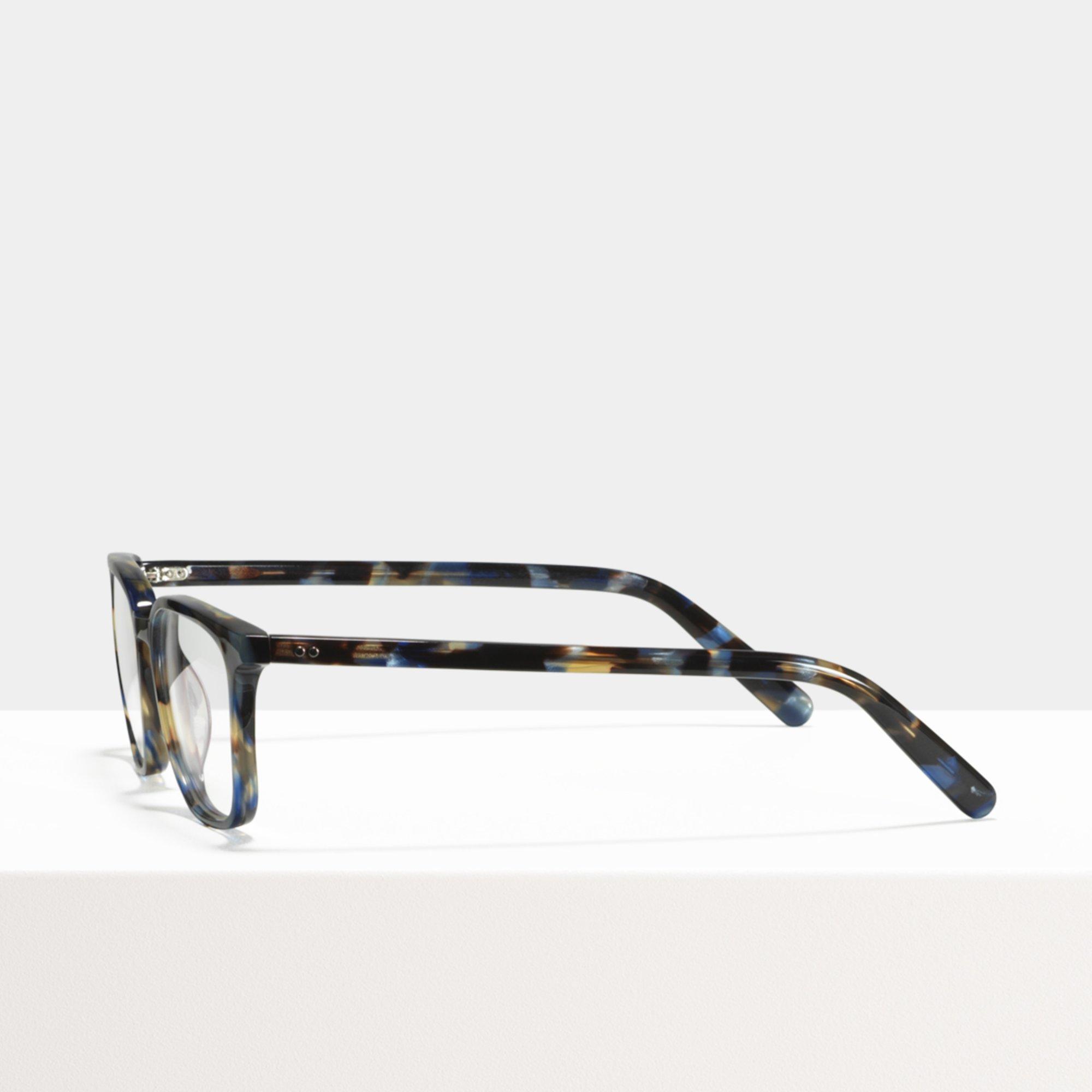 Ace & Tate Glasses | rechteckig Acetat in Blau, Braun