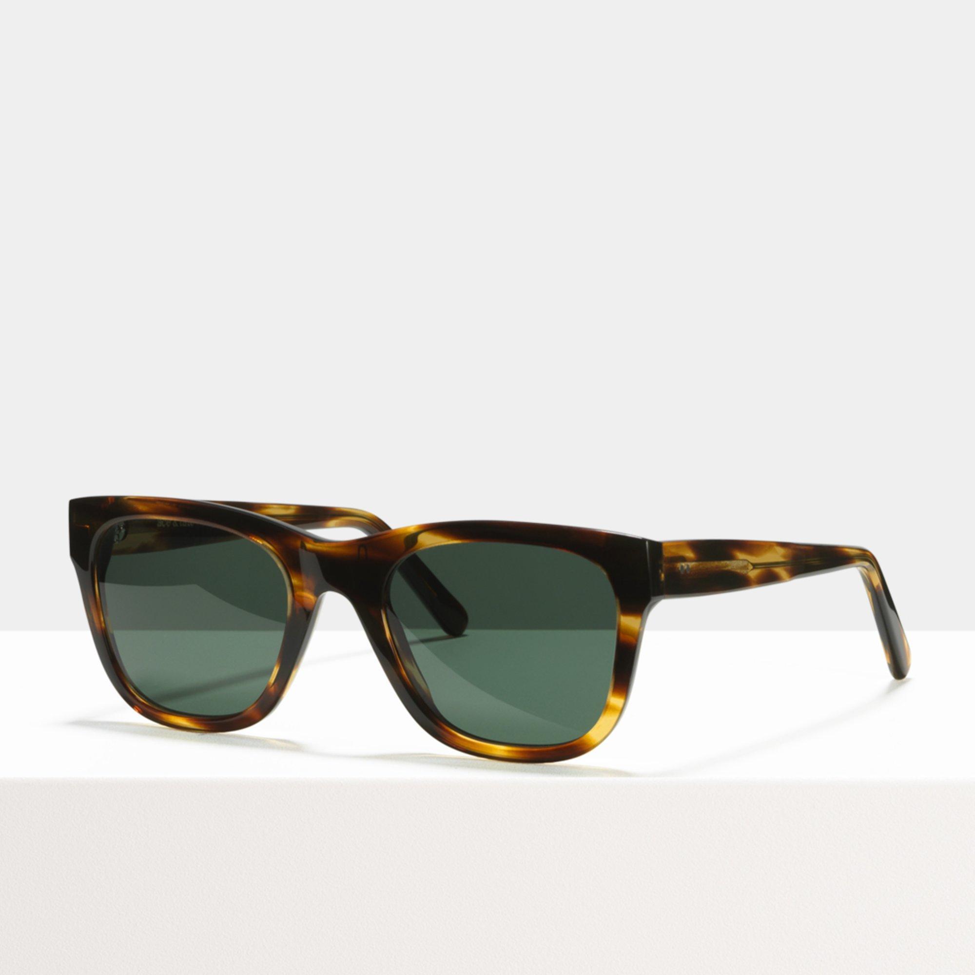 Ace & Tate Sunglasses   rectangle acetate in Brown, Orange