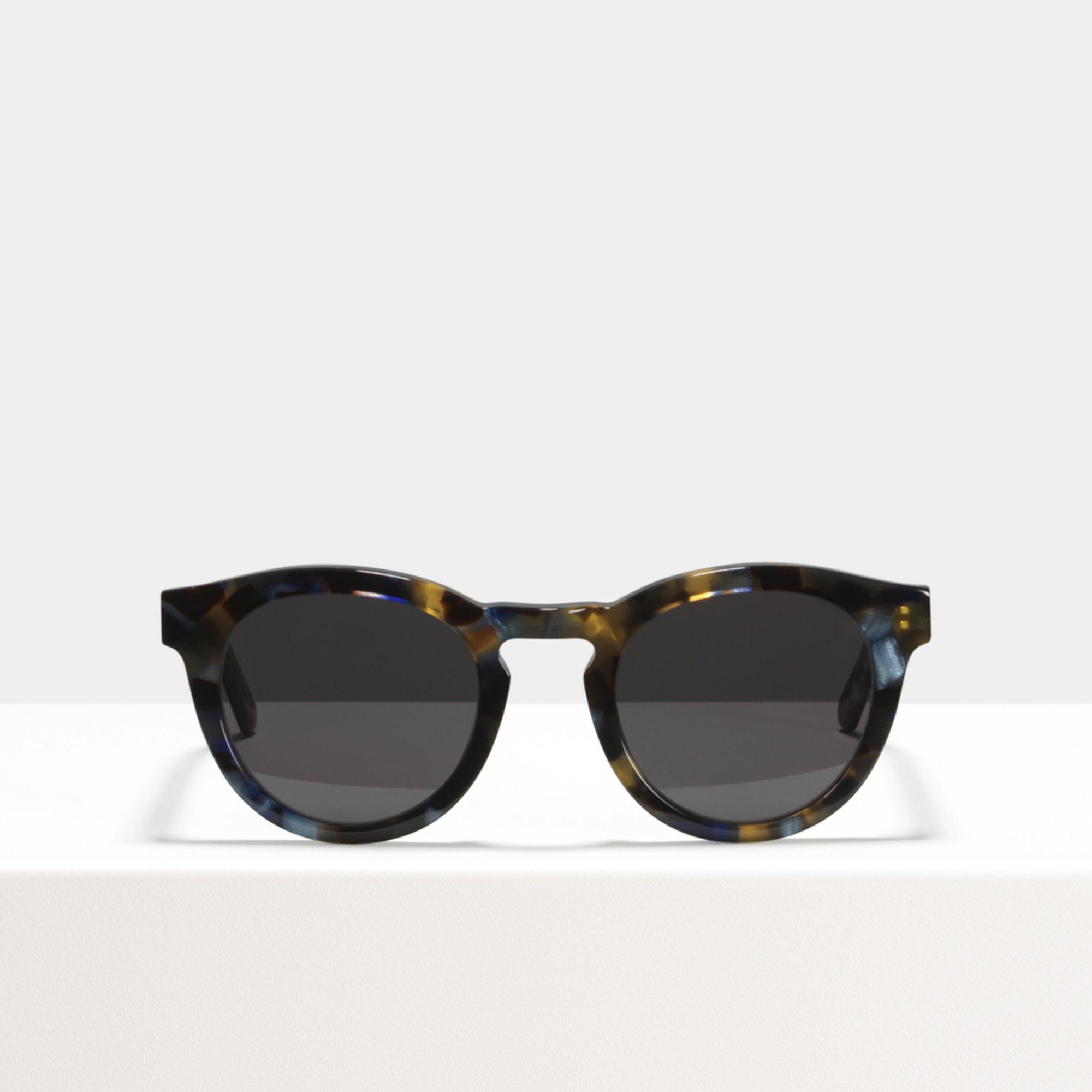 Ace & Tate Sunglasses | rund Acetat in Blau, Braun