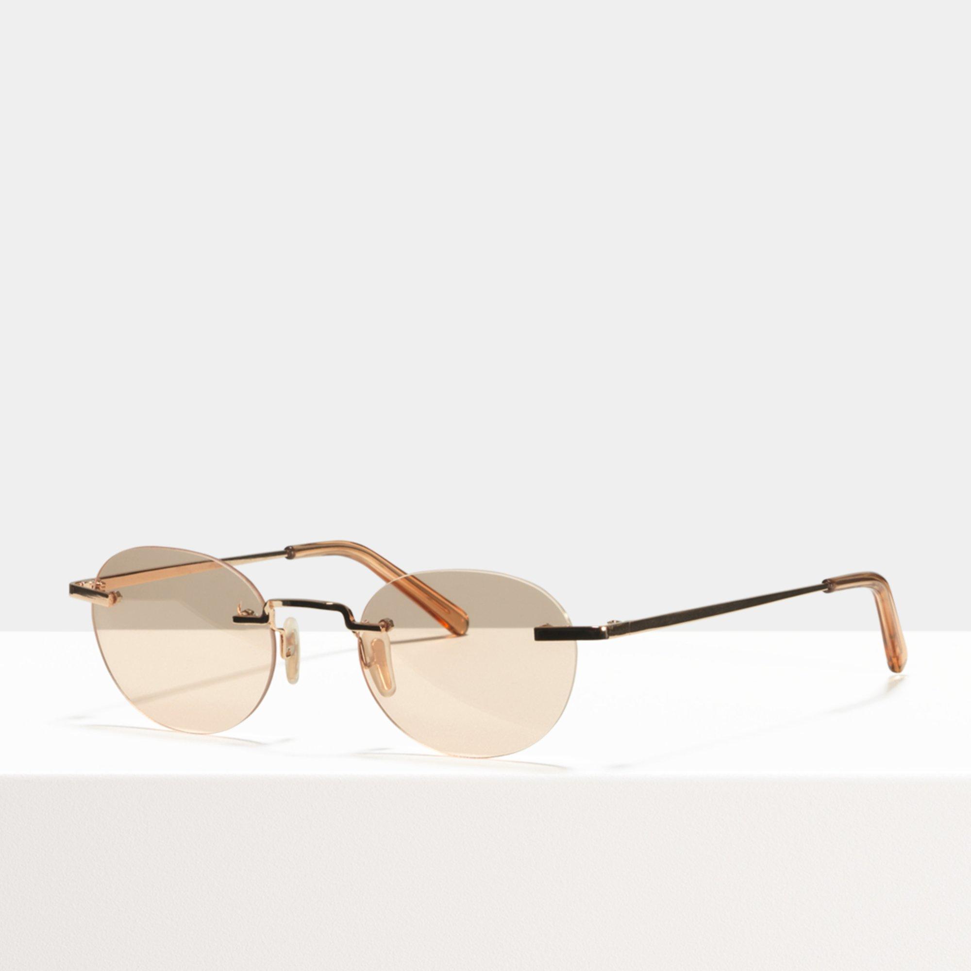 Ace & Tate Sunglasses |  titanium in Orange