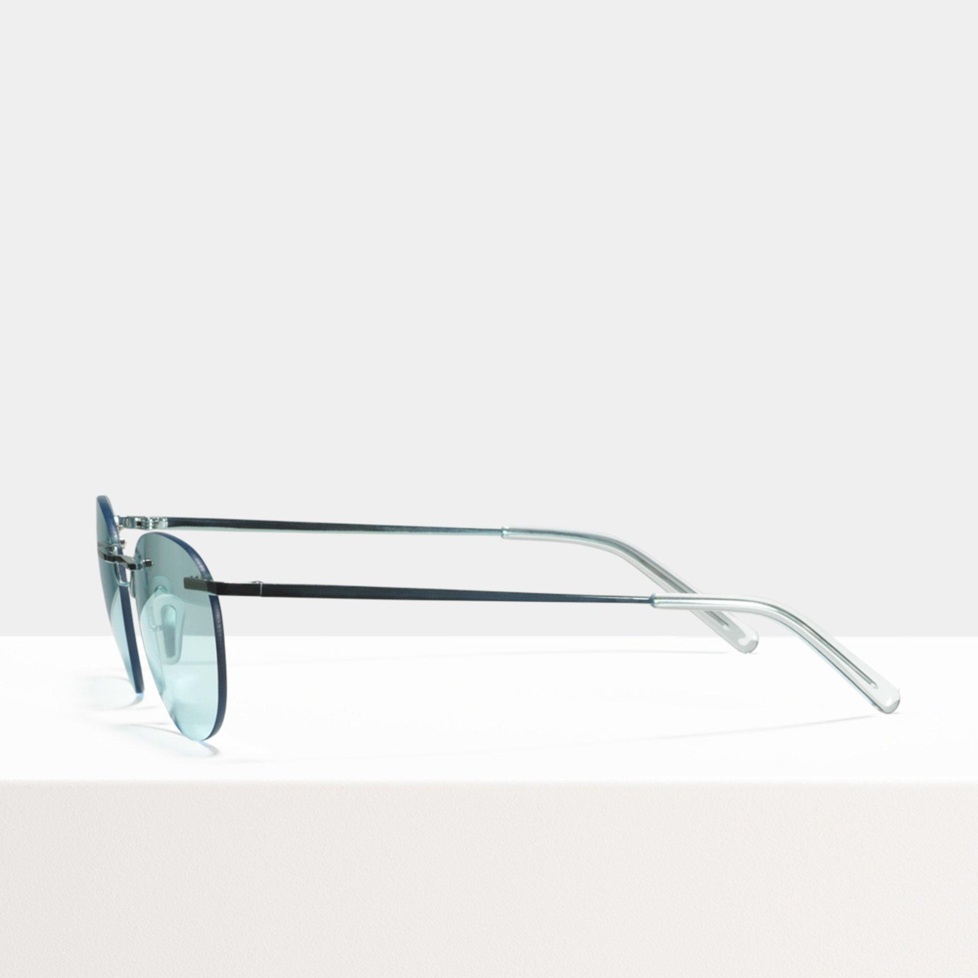 Ace & Tate Sunglasses | round titanium in Blue