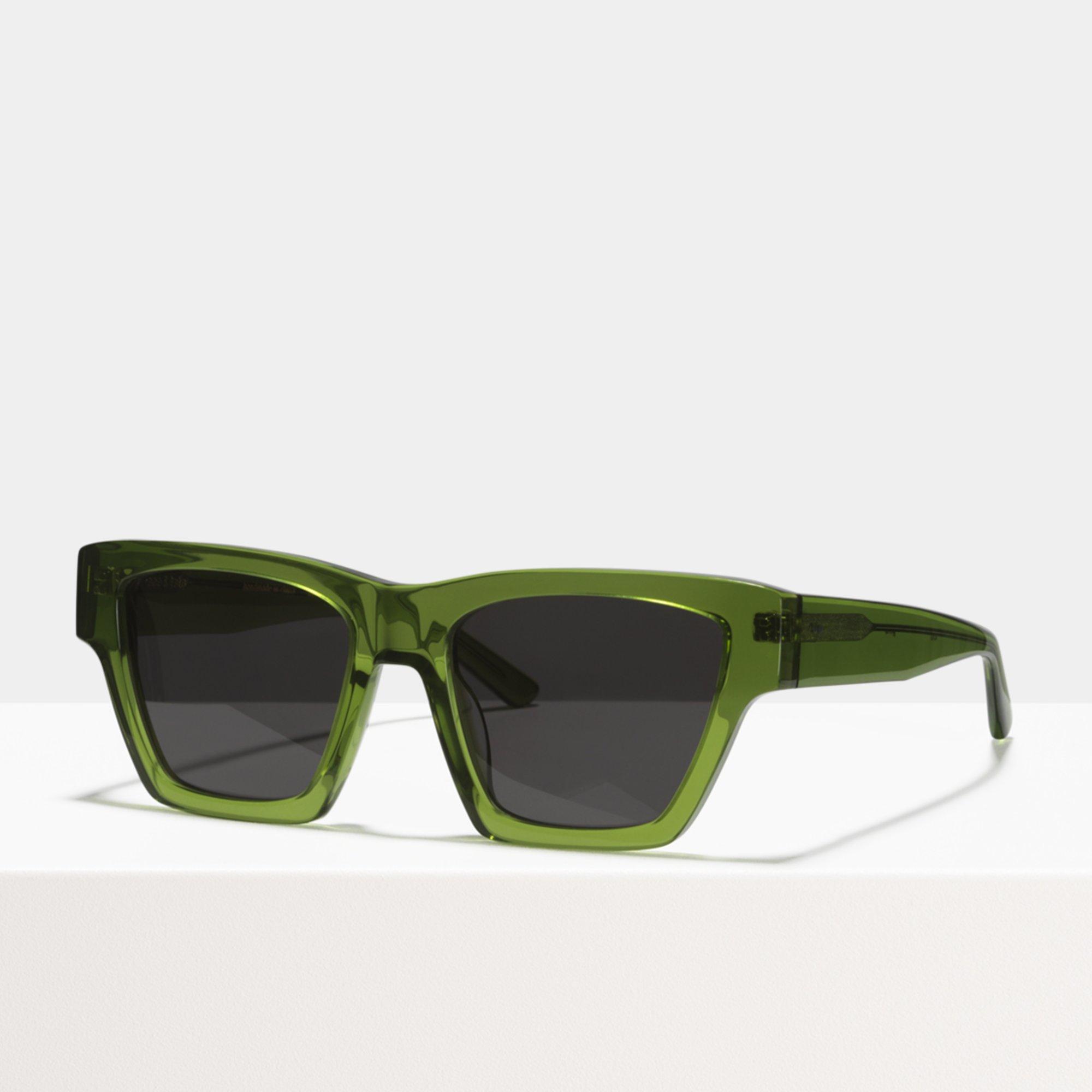 Ace & Tate Sunglasses   quadratisch Acetat in Grün