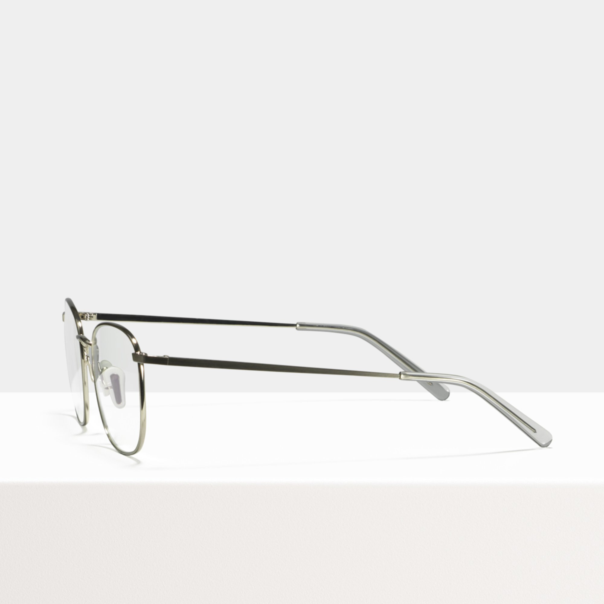 Ace & Tate Glasses | square metal in Silver