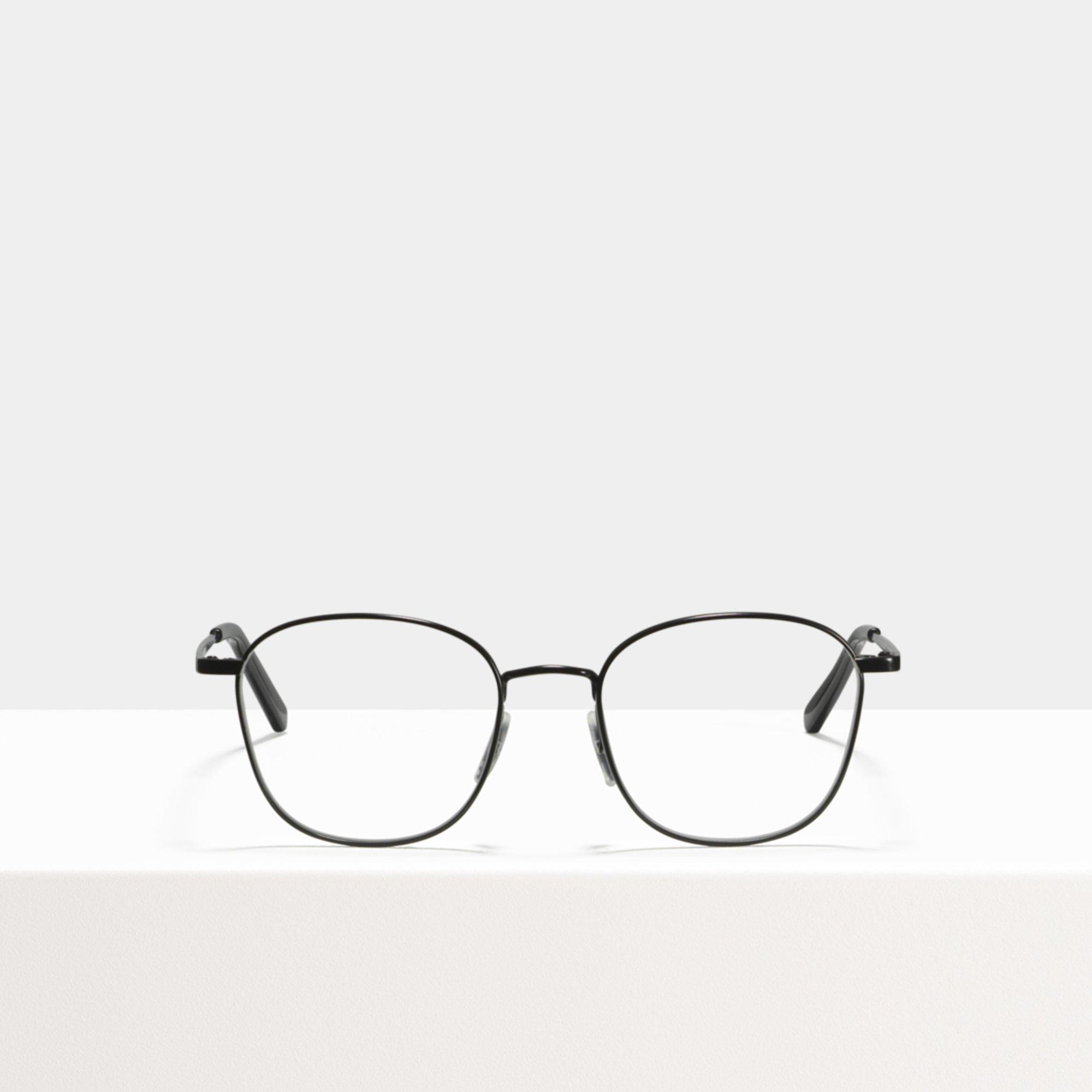 Ace & Tate Glasses | square metal in Black
