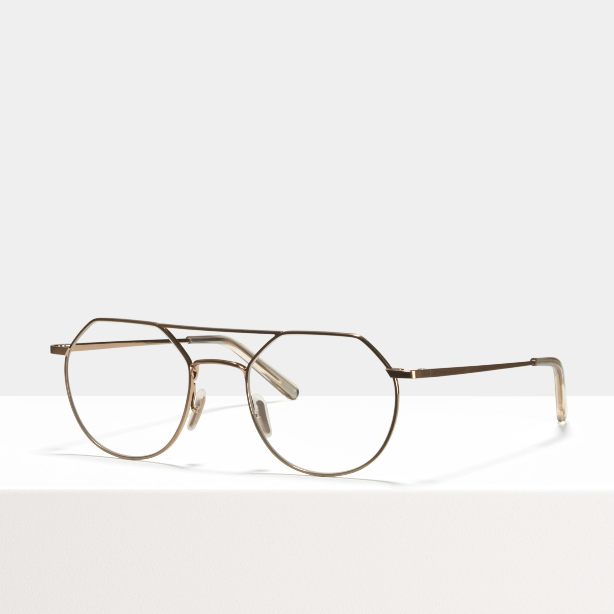 Ace & Tate Glasses |  metal in Gold, Pink