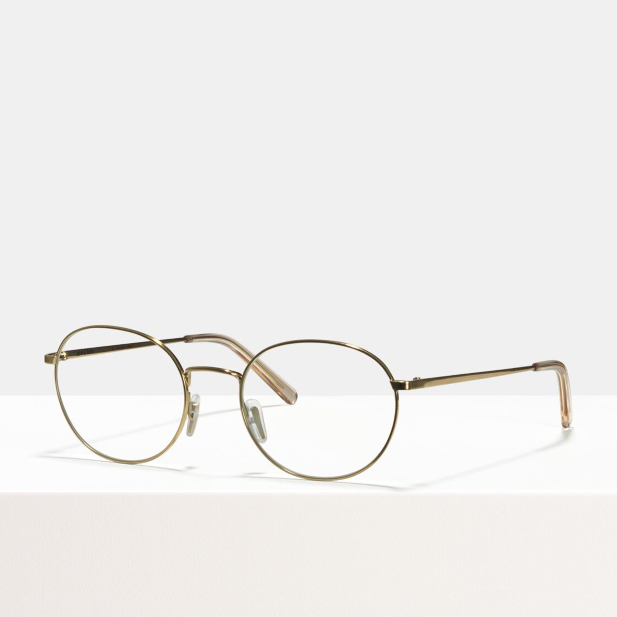 Ace & Tate Glasses |  metal in Gold
