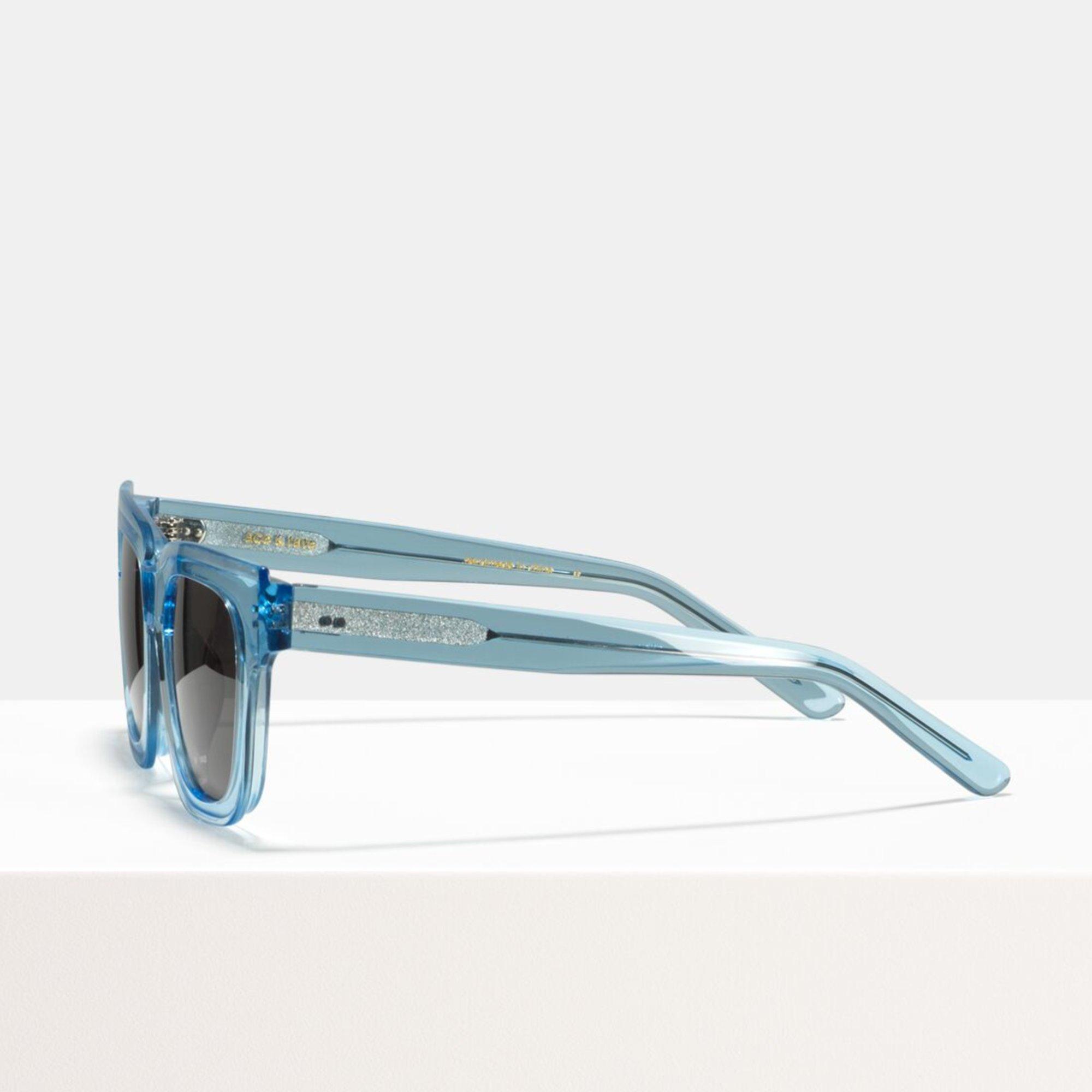 Ace & Tate Sunglasses   square bio acetate in Blue