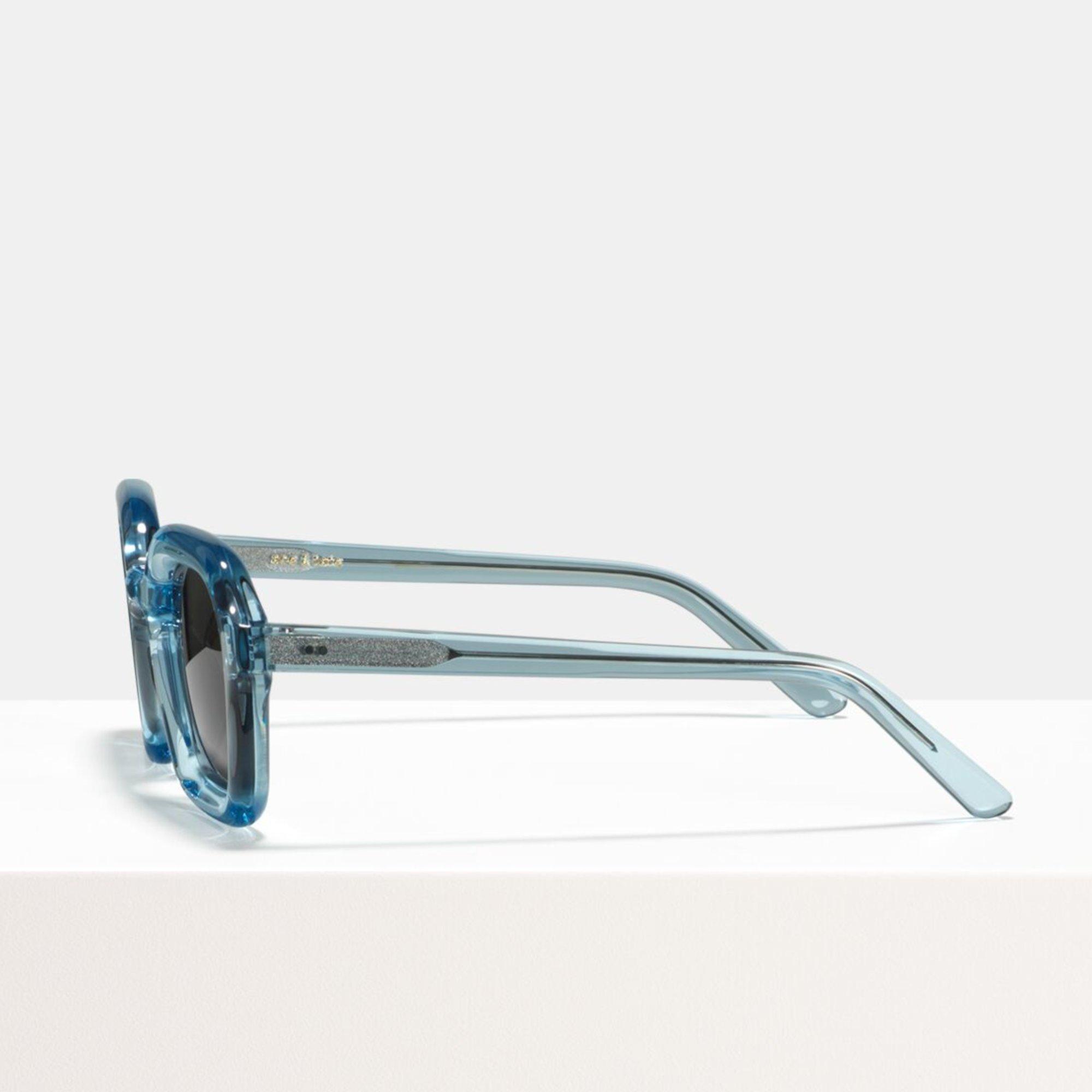 Ace & Tate Sunglasses | square bio acetate in Blue