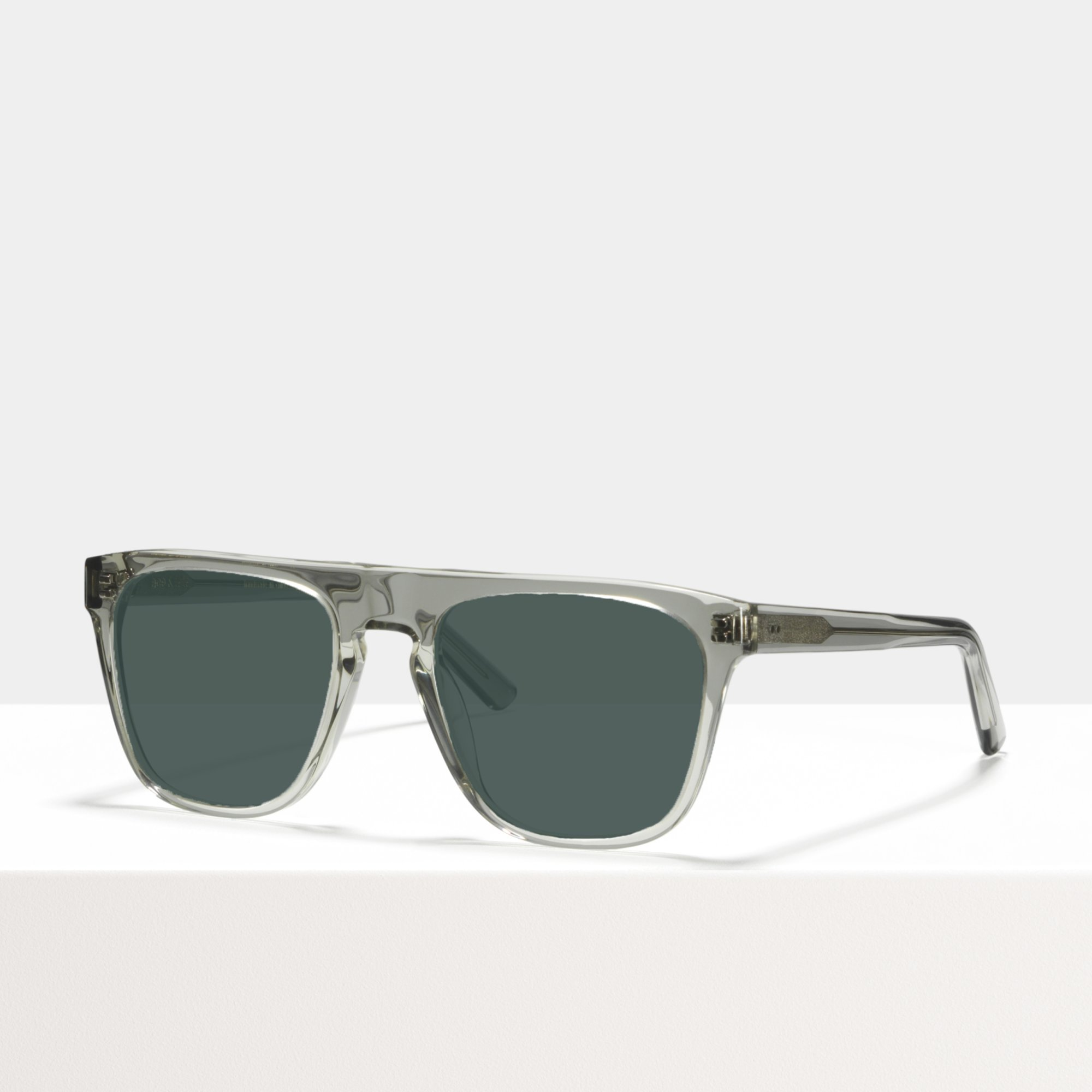 Ace & Tate Sunglasses   square acetate in Clear, Grey
