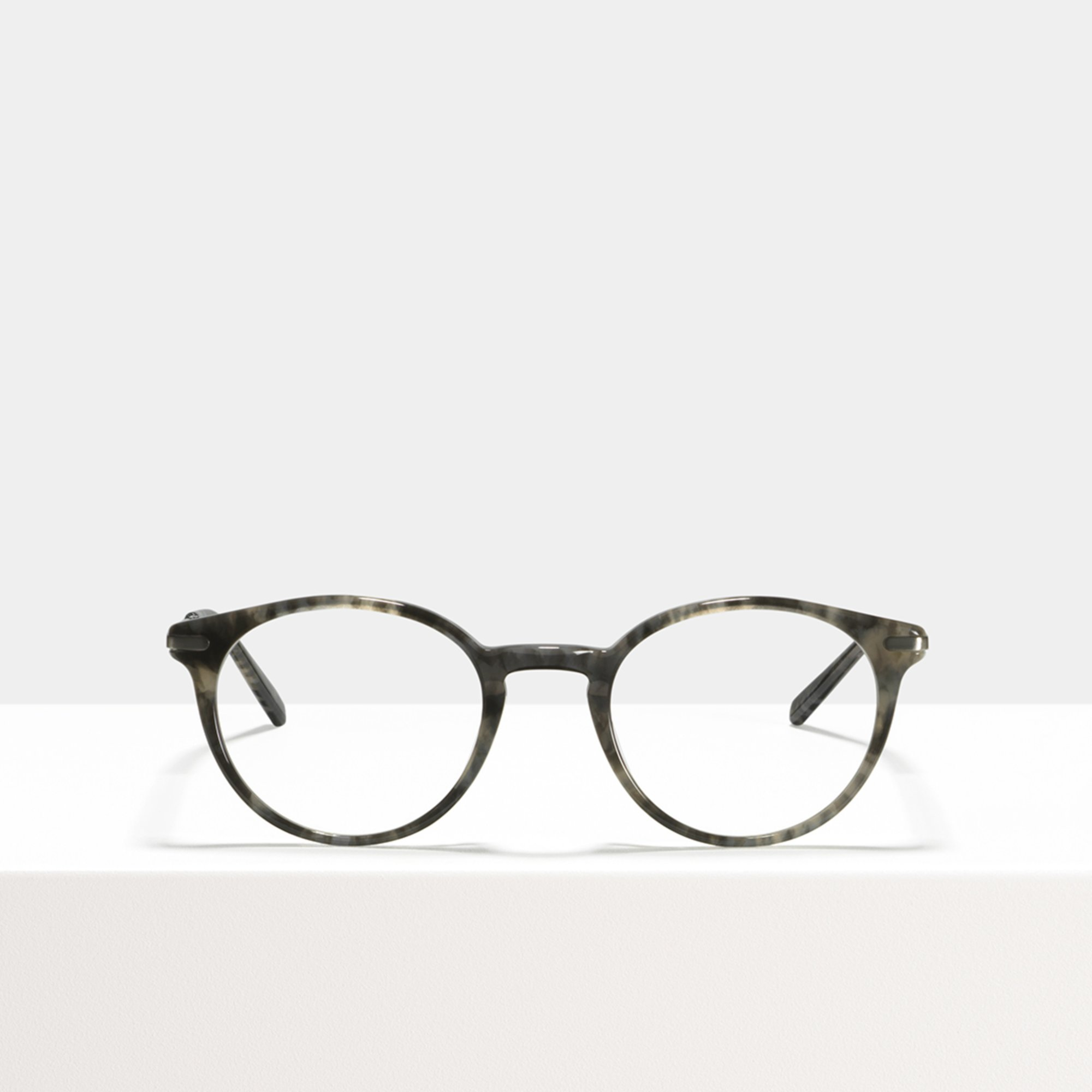 Ace & Tate Glasses   round acetate in Grey