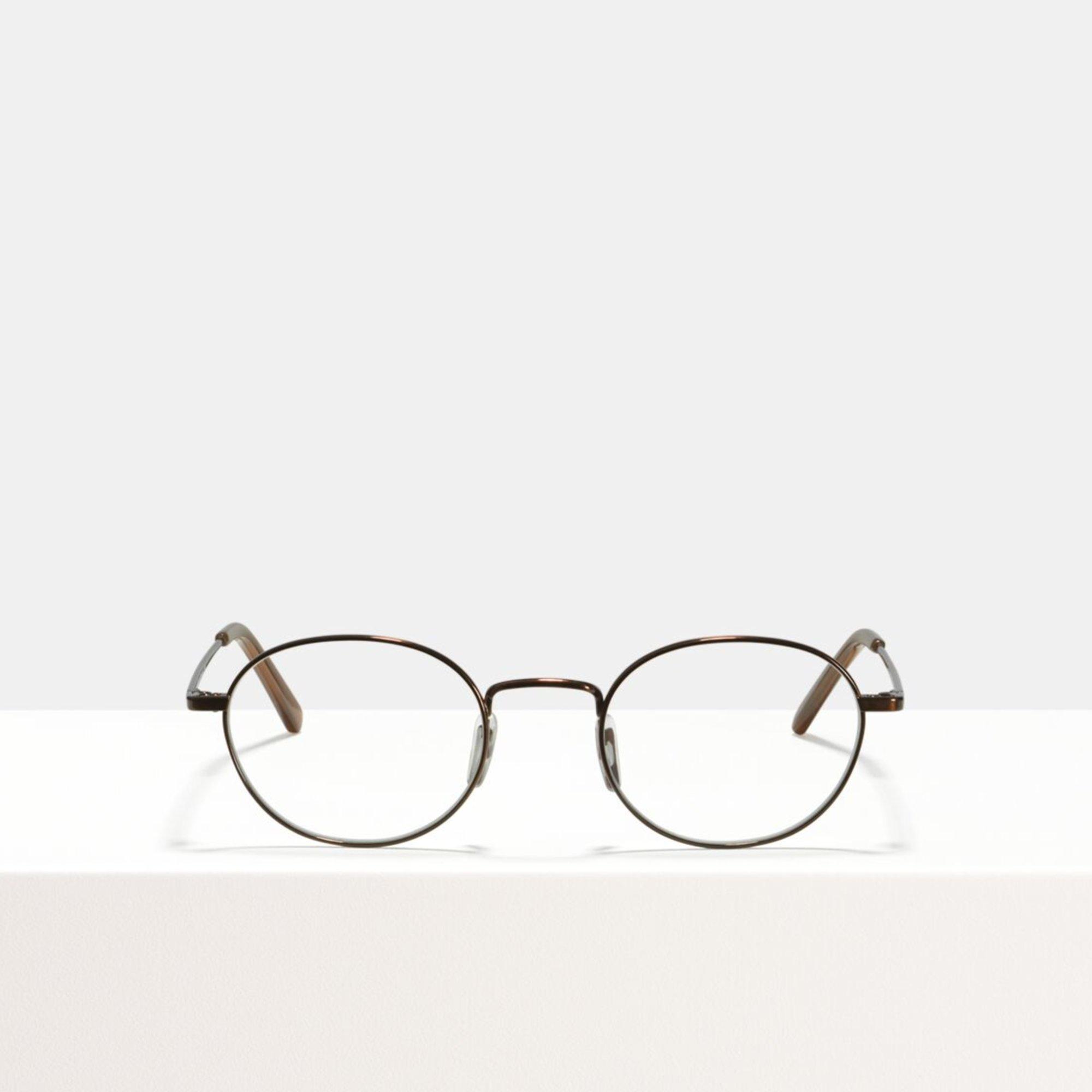 Ace & Tate Glasses |  titanium in Brown