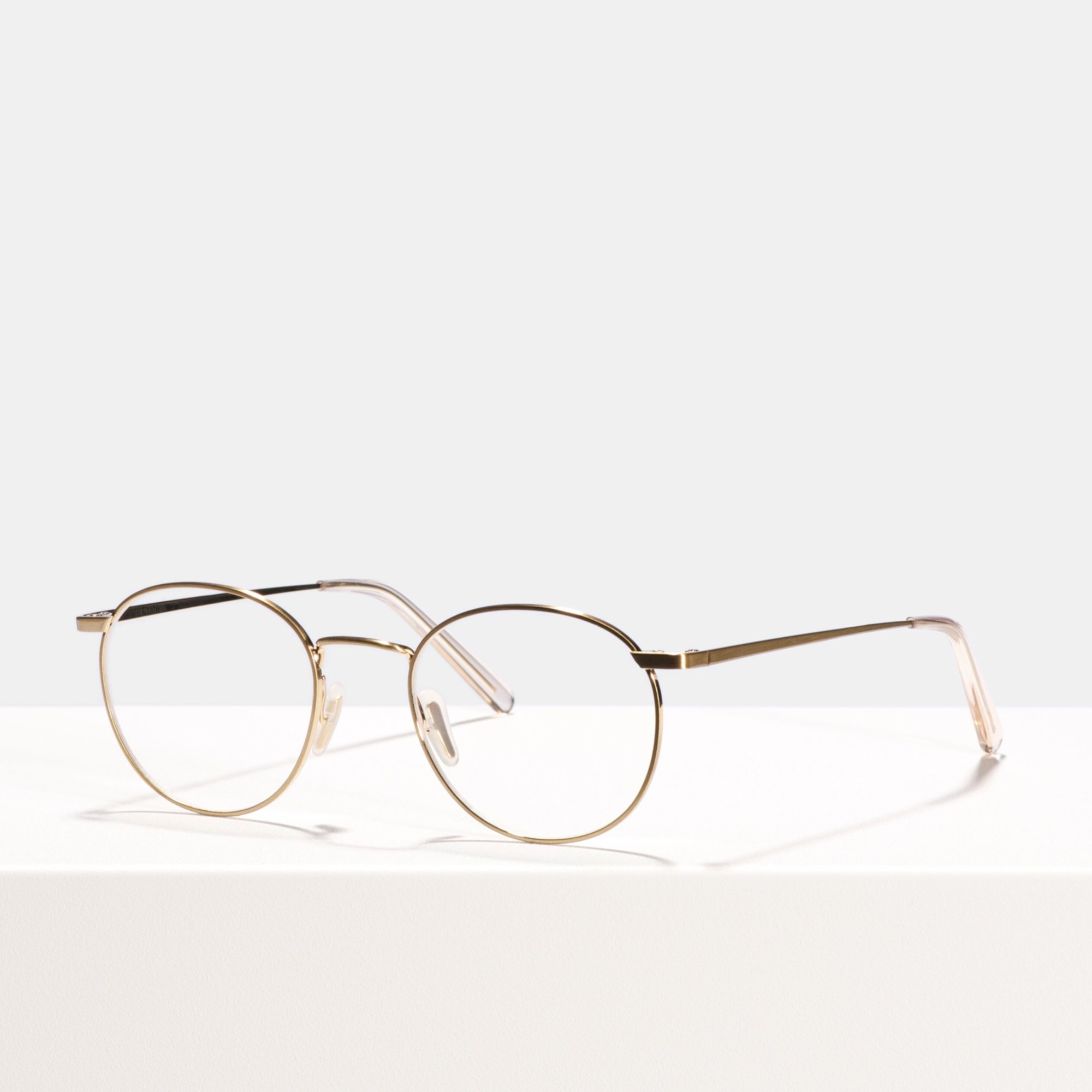 Ace & Tate Glasses | rund Metall in Gold