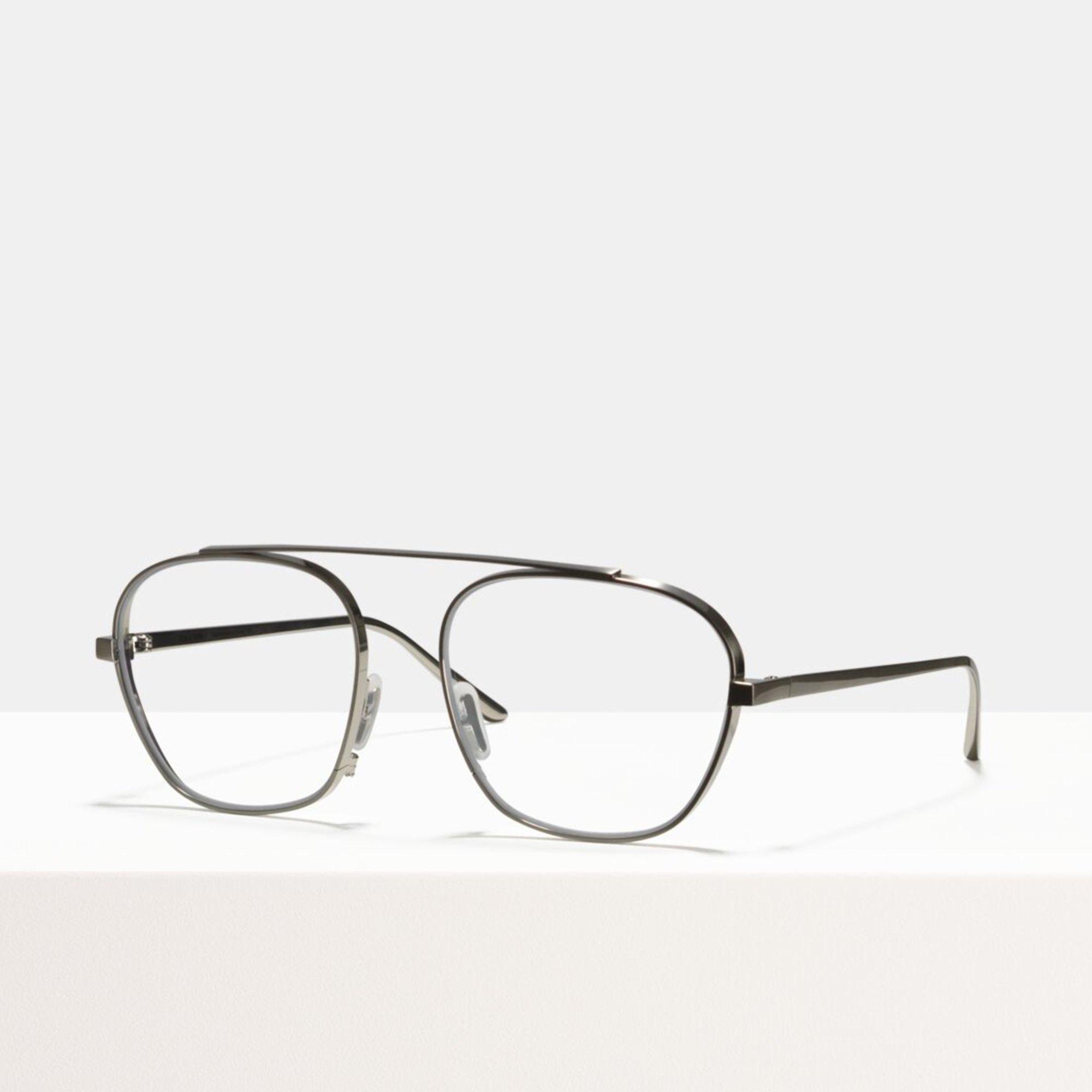 Ace & Tate Glasses | square titanium in Silver